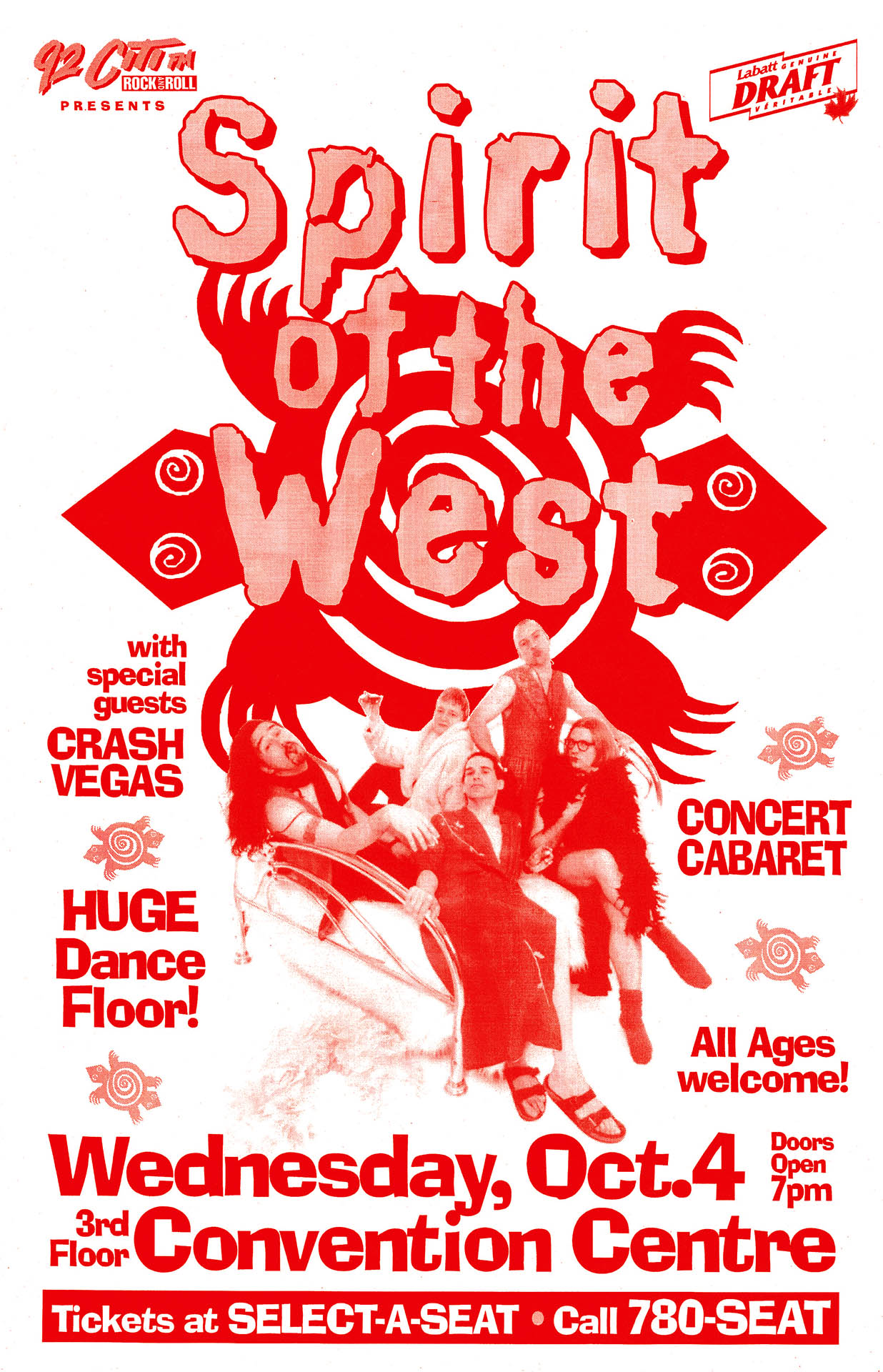 Spirit Of The West – 1995