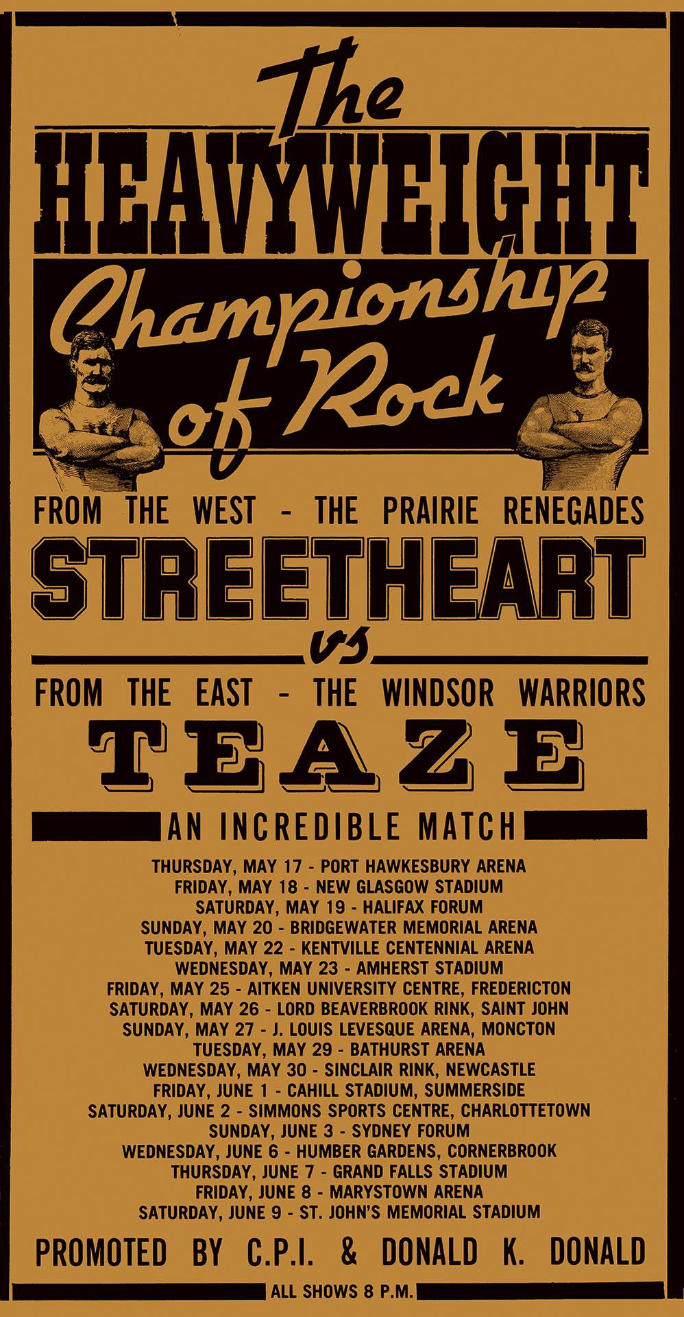 Streetheart & Teaze - 1979