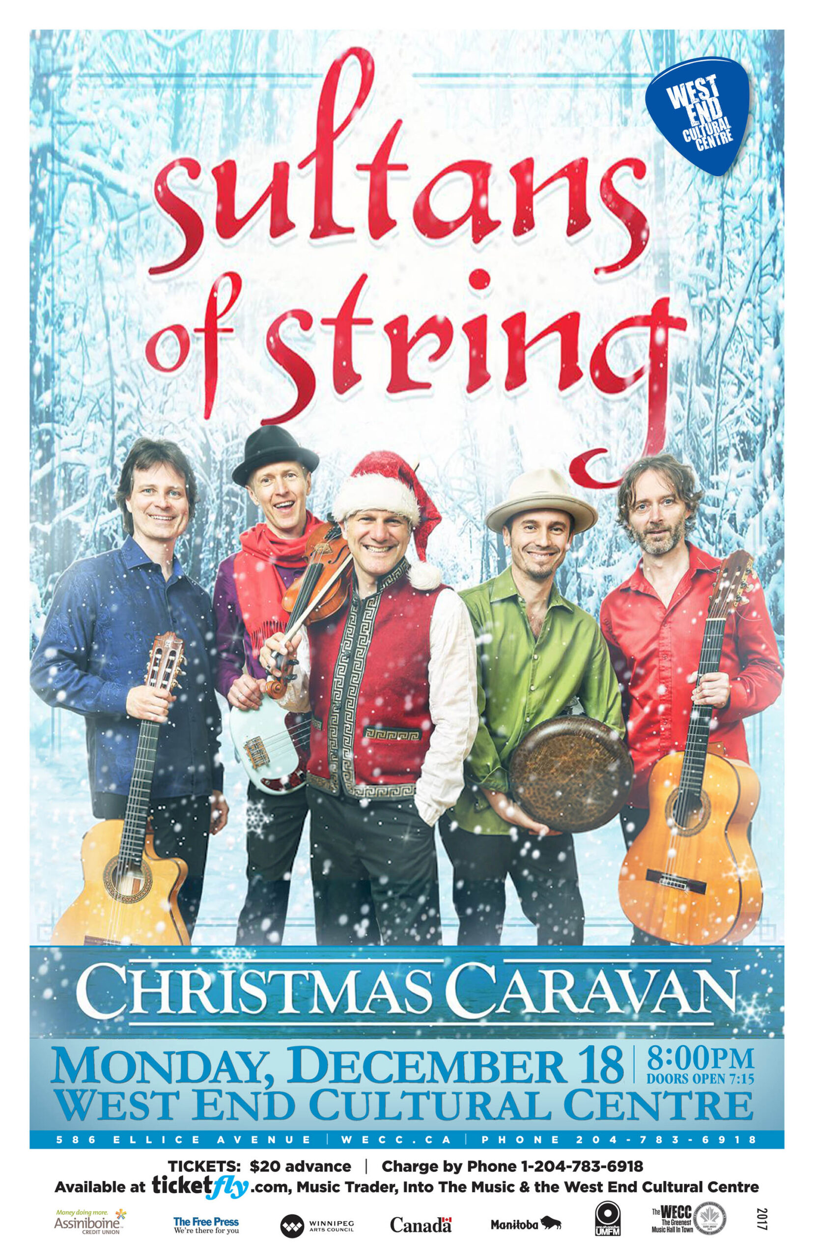 Sultans Of String - 2017