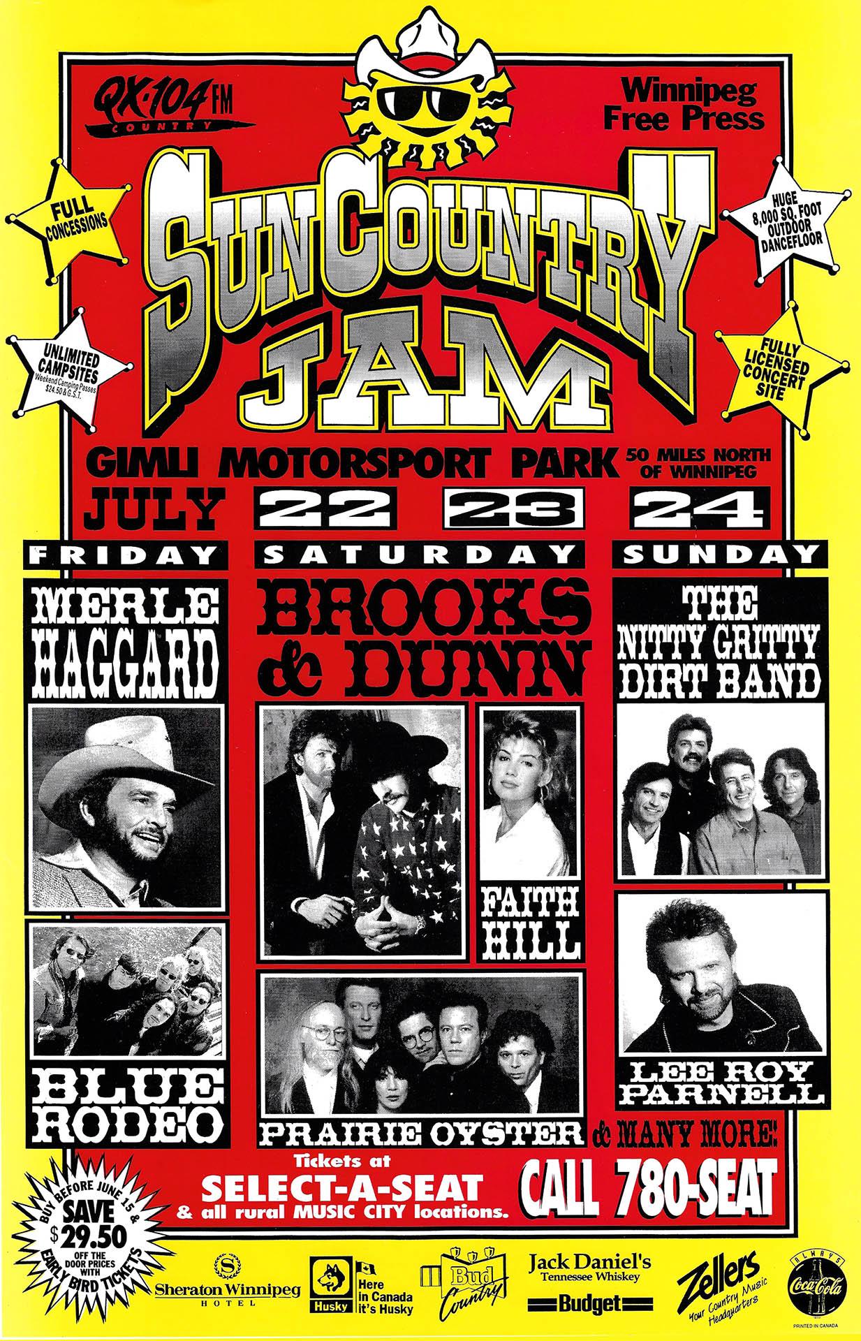 Sun Country Jam - 1994