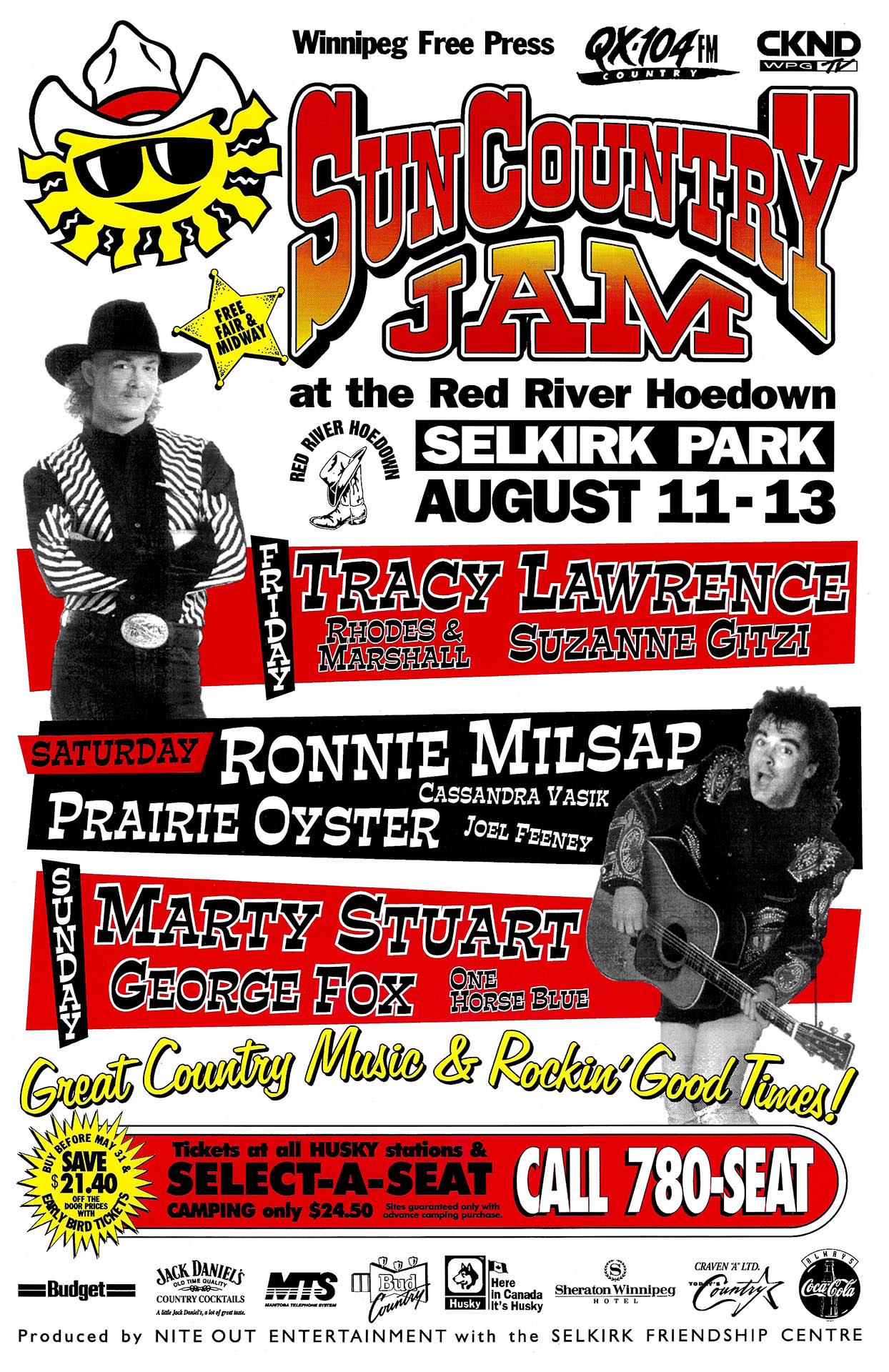 Sun Country Jam – 1995