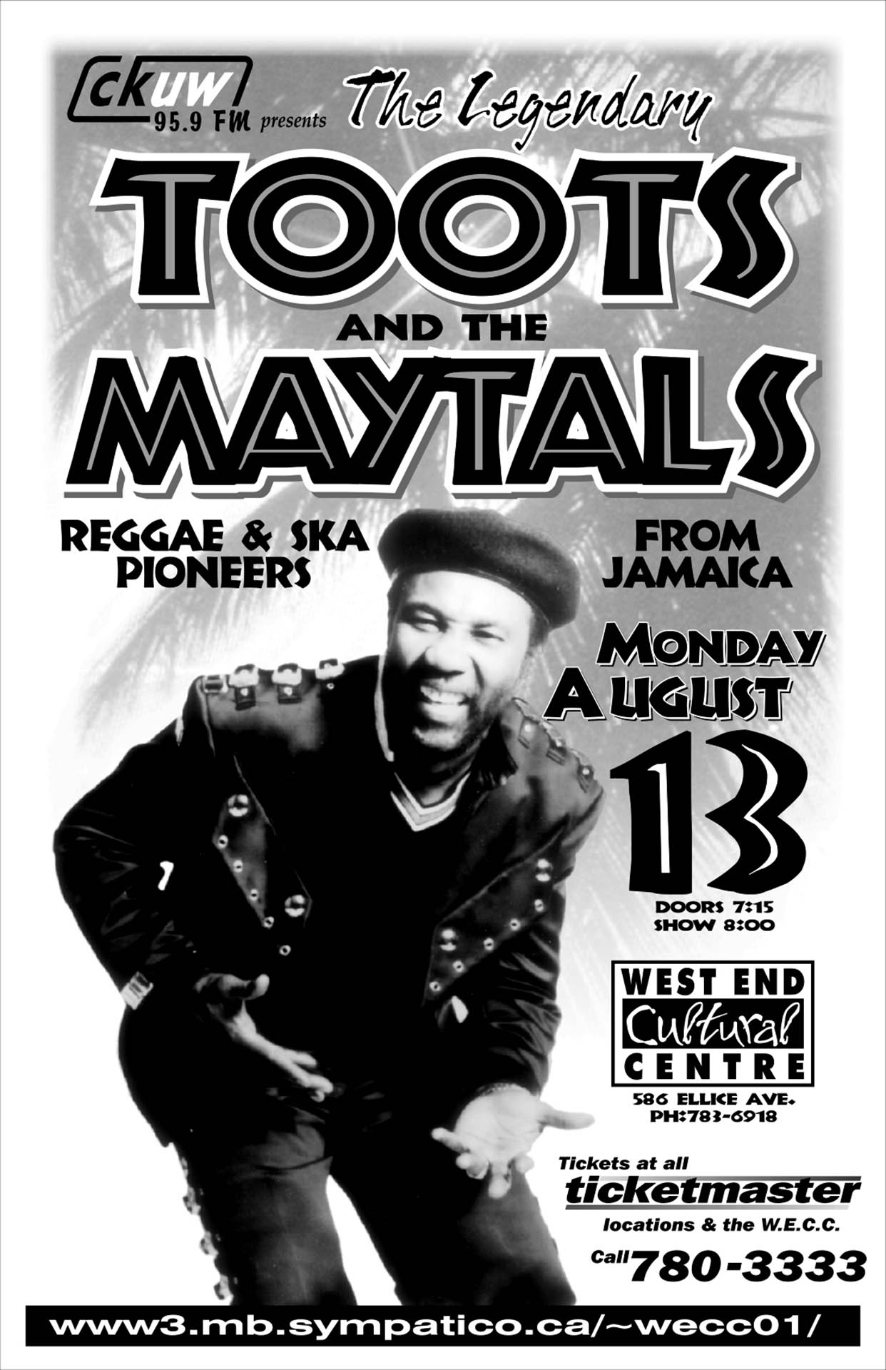 Toots And The Maytals - 2001