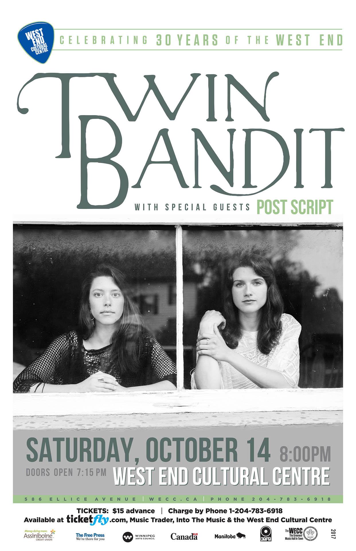 Twin Bandit - 2017
