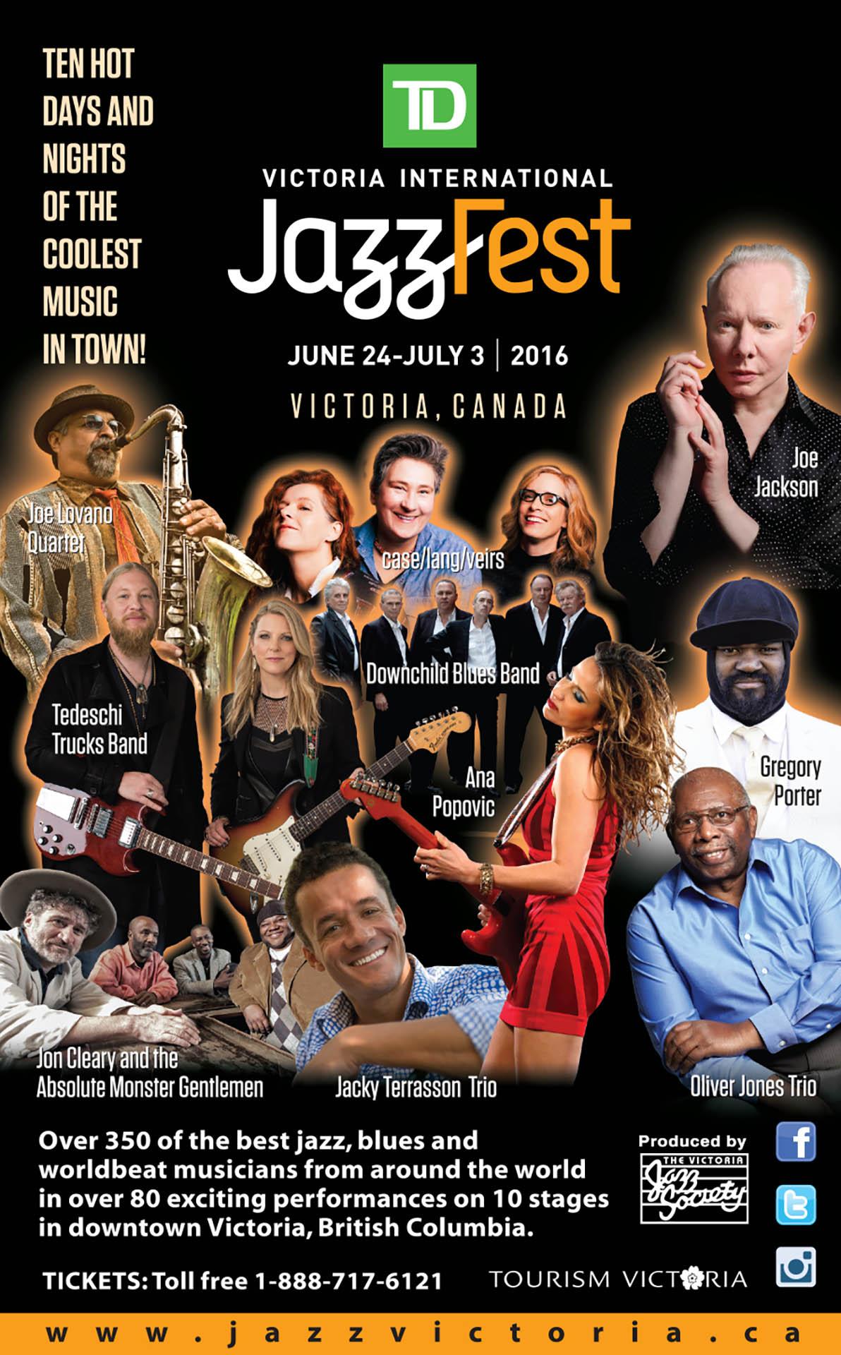 Victoria International Jazz Fest - 2016
