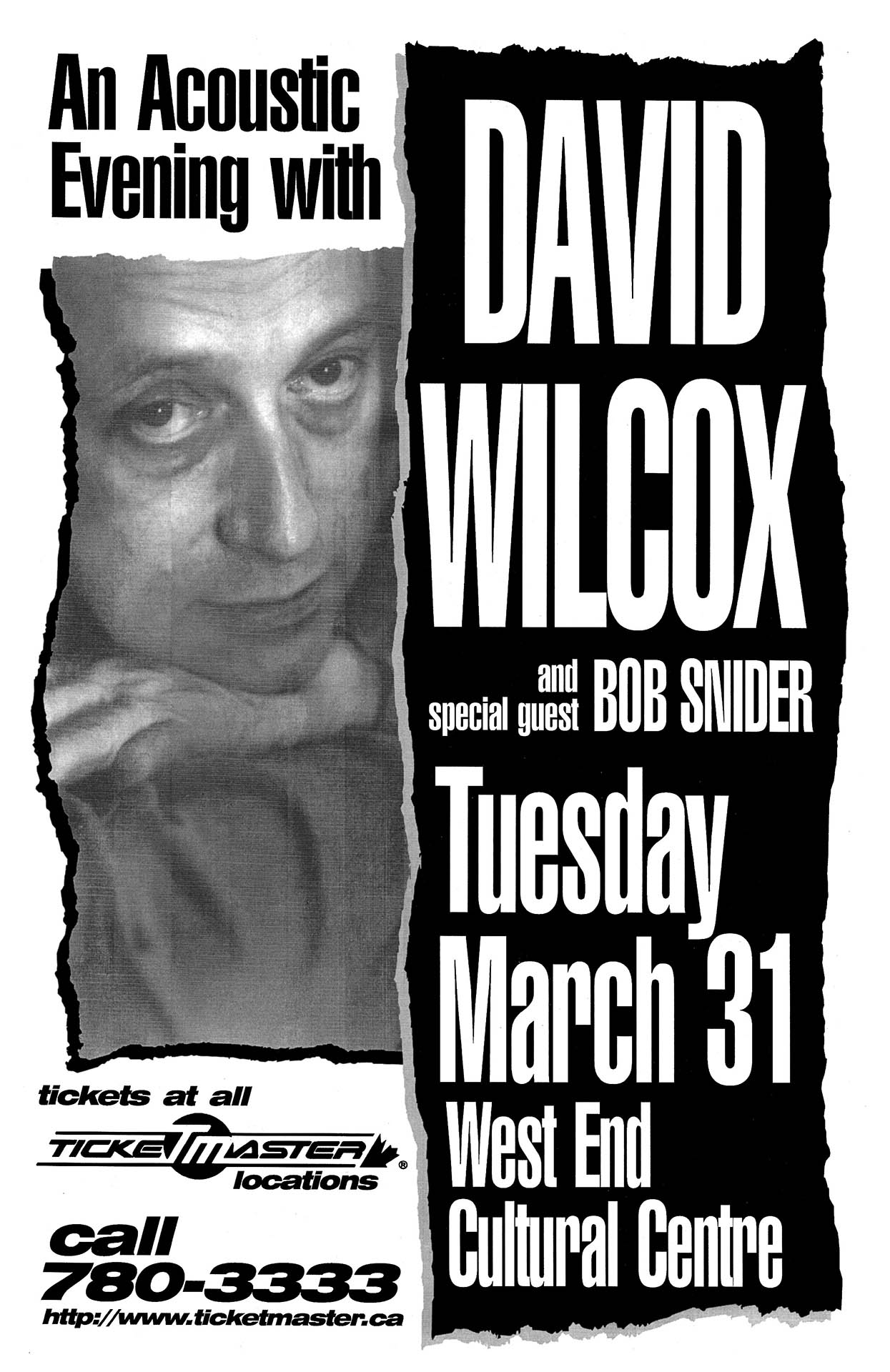 David Wilcox – 1998