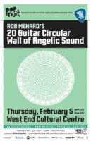 Rob Menard's 20 Guitar Circular Wall of Angelic Sound - 2015