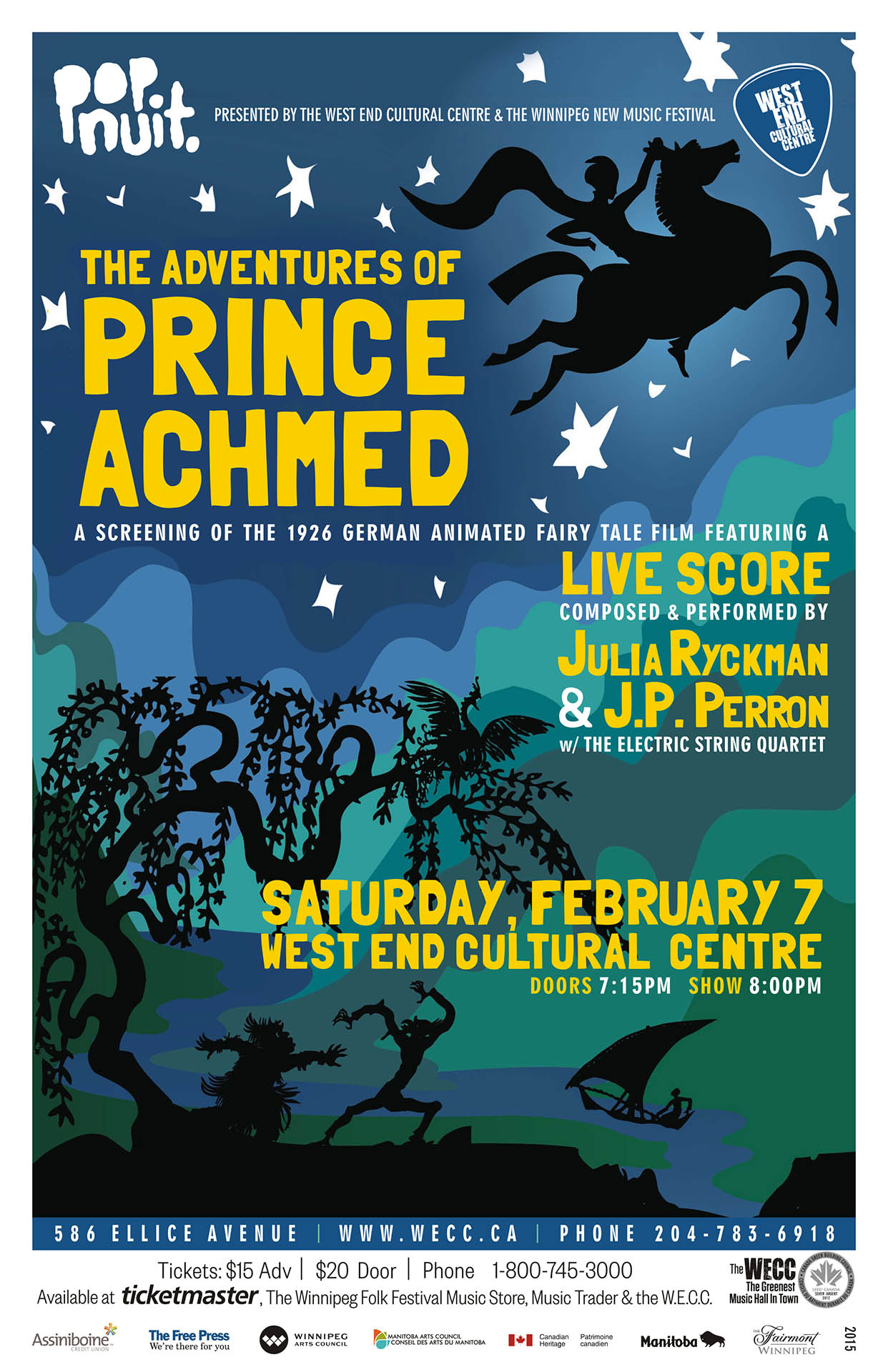 The Adventures of Prince Achmed - 2015