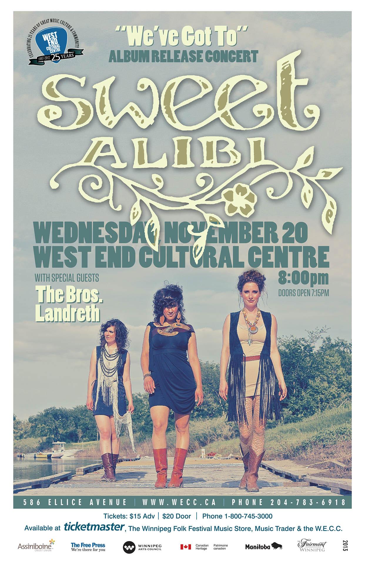 Sweet Alibi – 2013