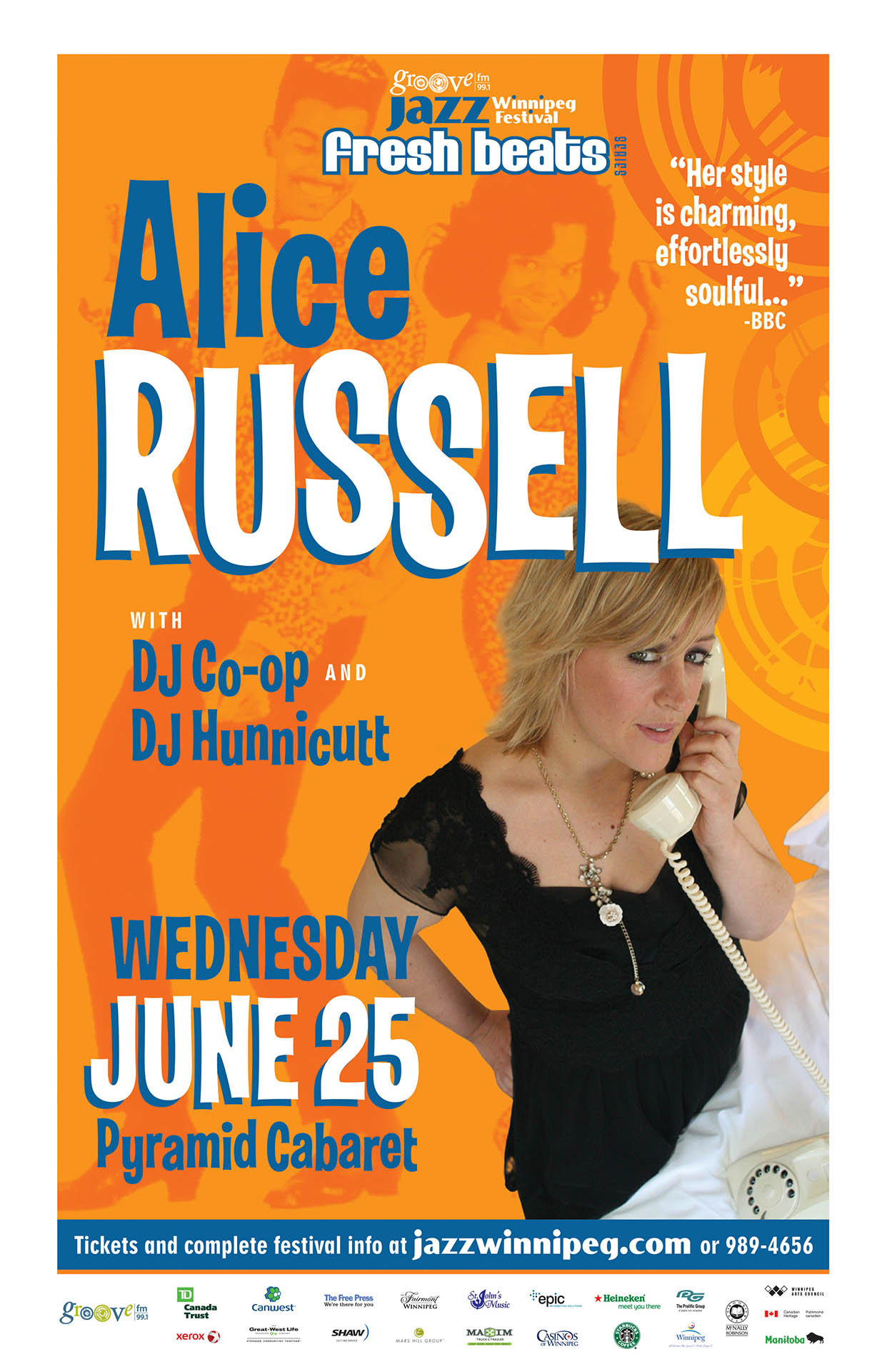 ALICE RUSSELL – 2008