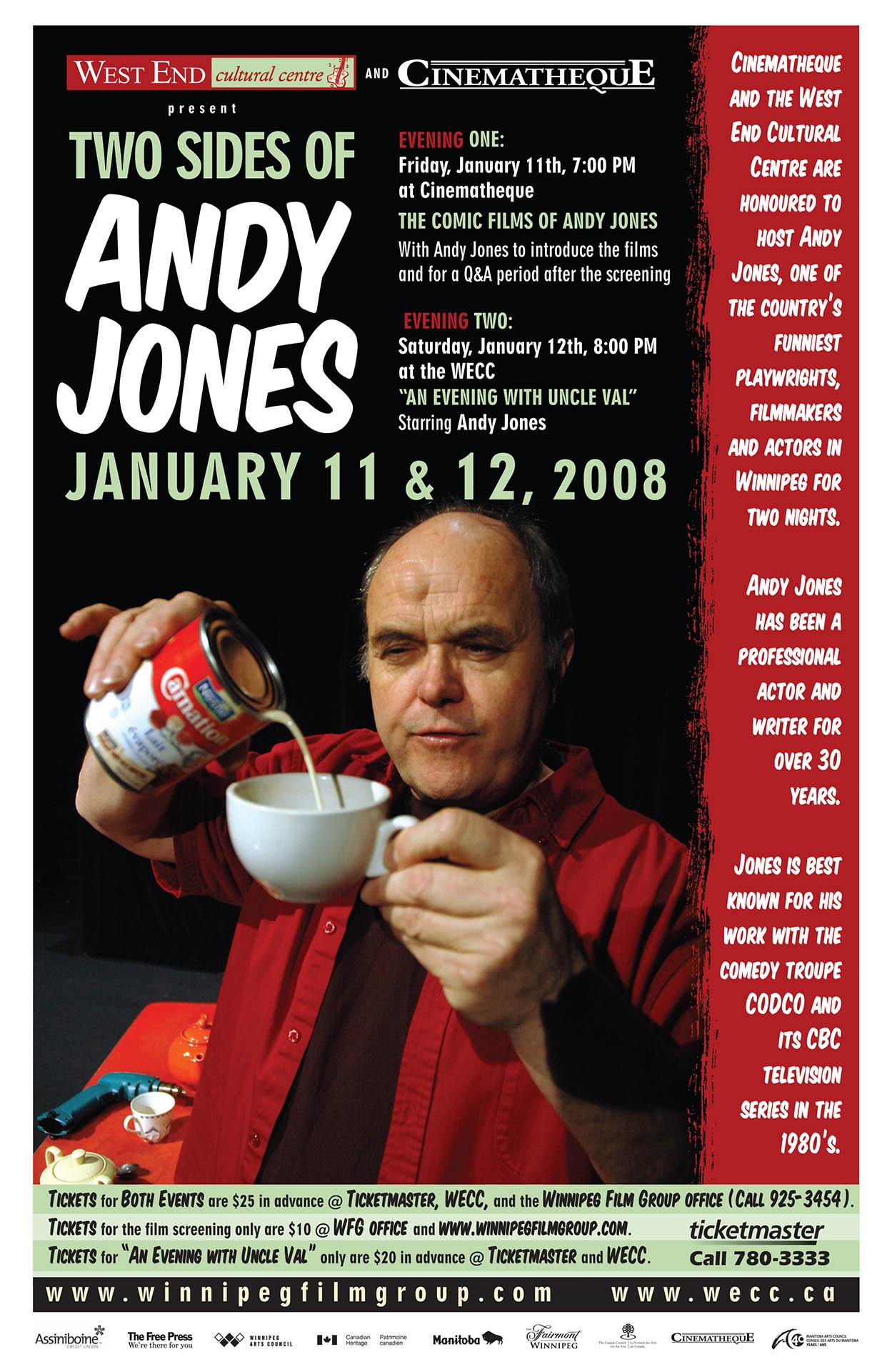 ANDY JONES- 2008