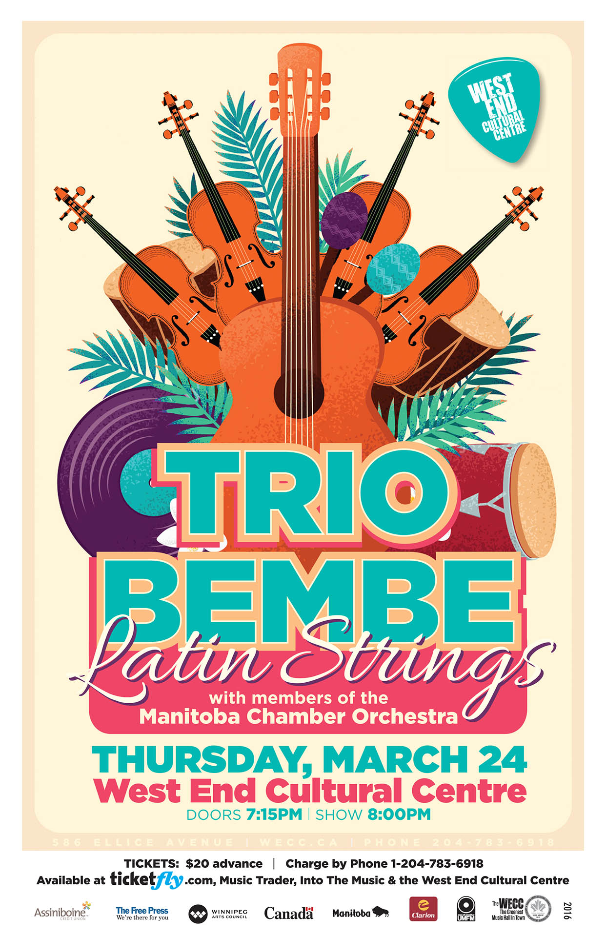 Trio Bembe Latin Strings - 2015