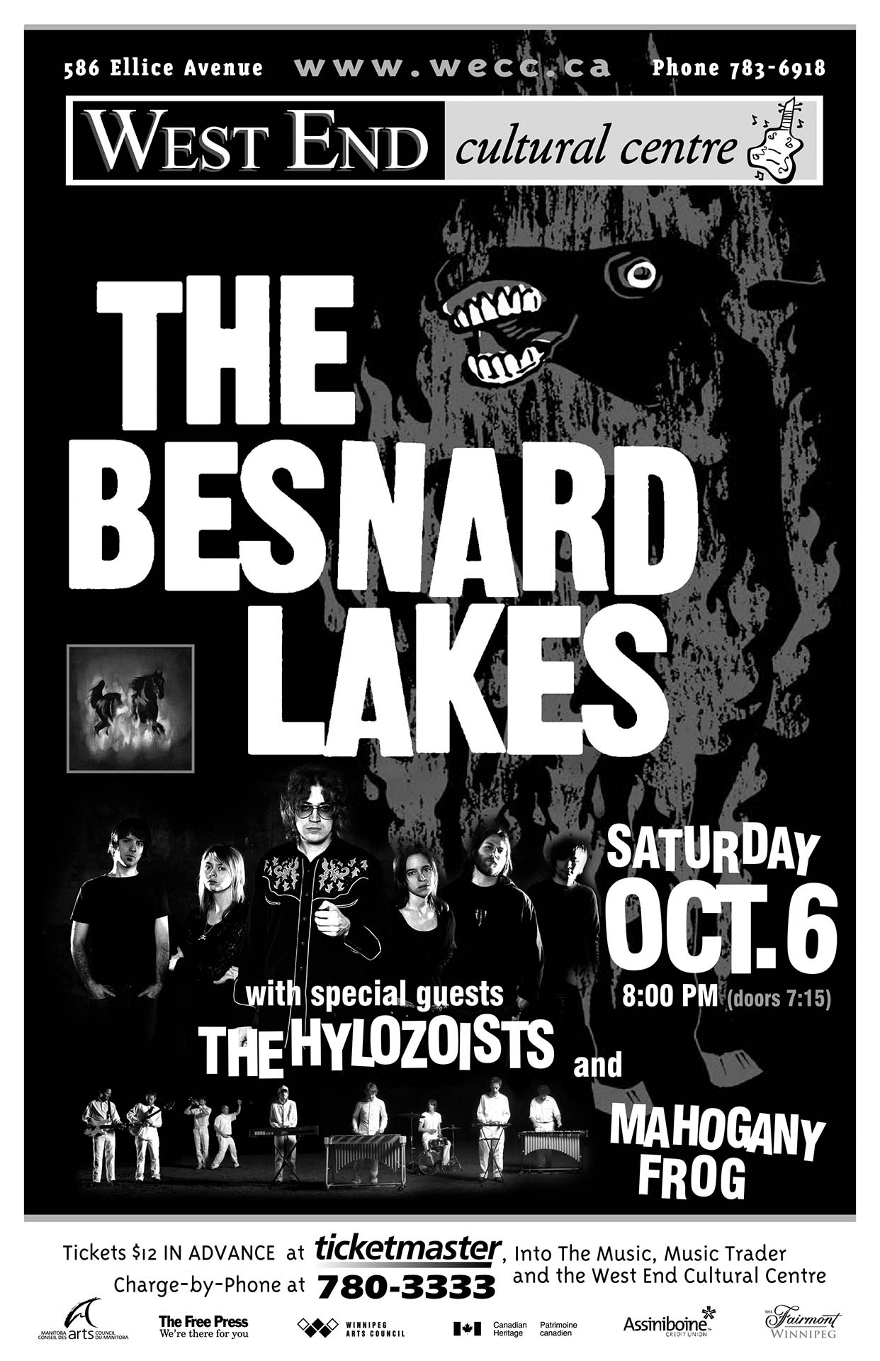 THE BESNARD LAKES – 2007