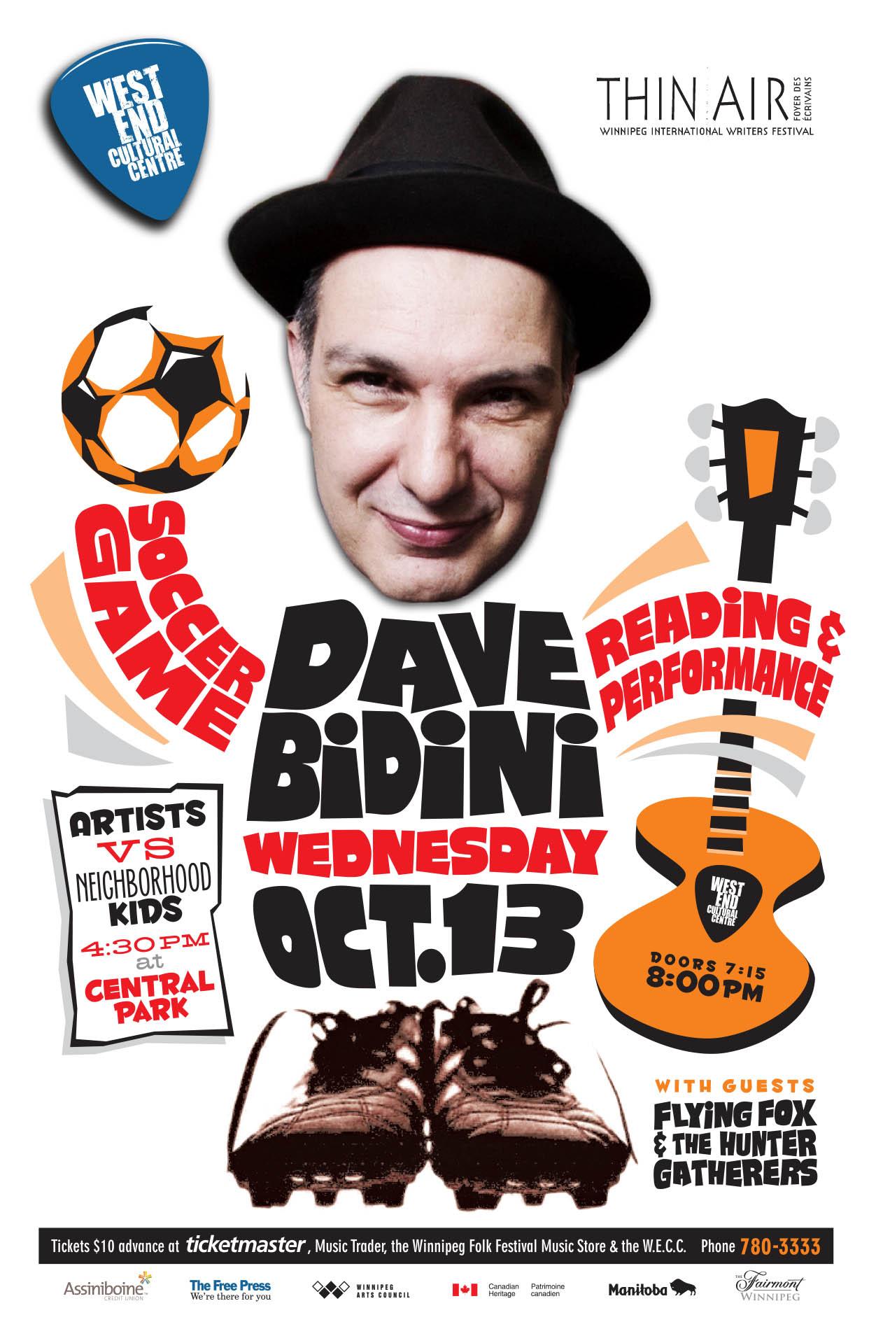 DAVE BIDINI – 2010
