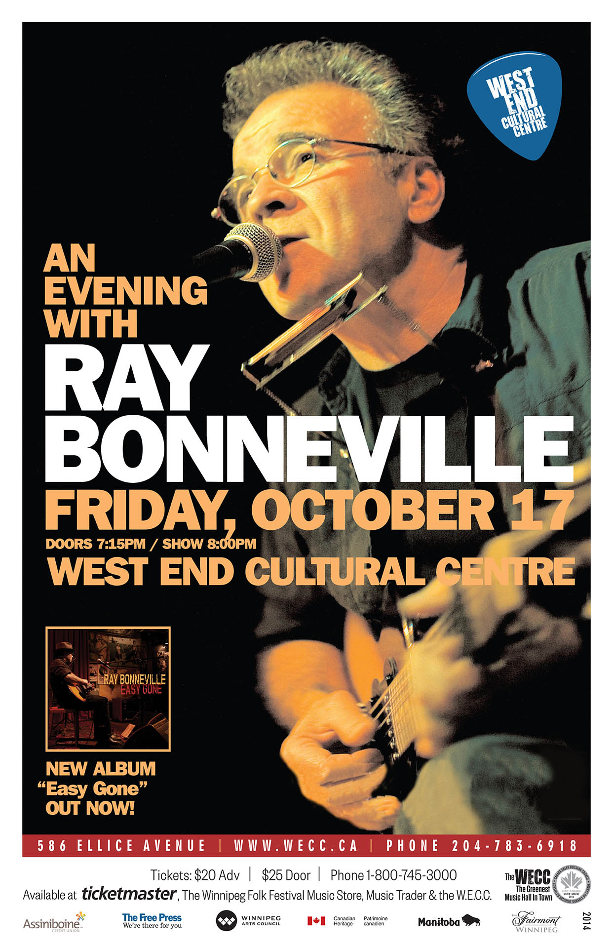 Ray Bonneville - 2014