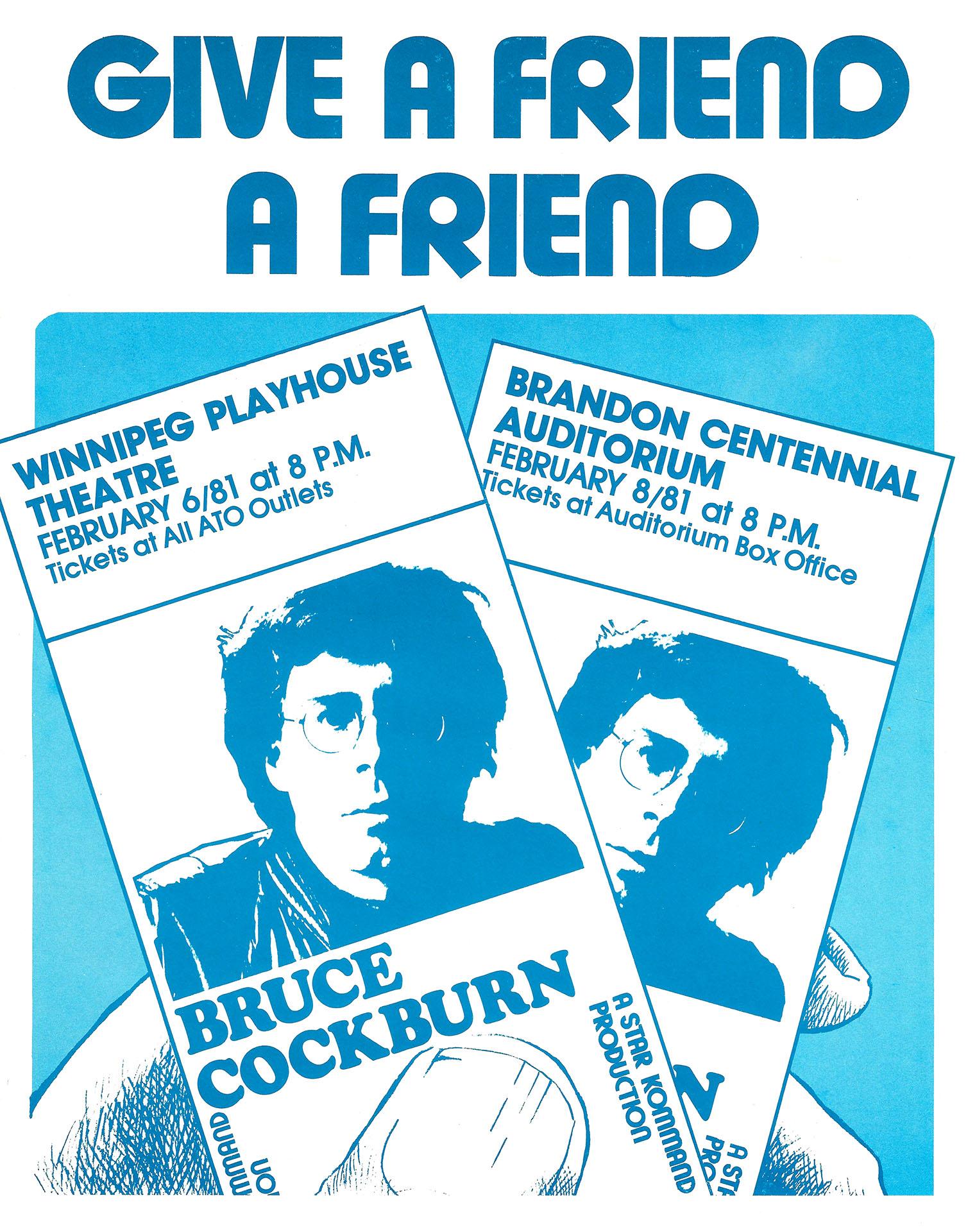 BRUCE COCKBURN – 1981