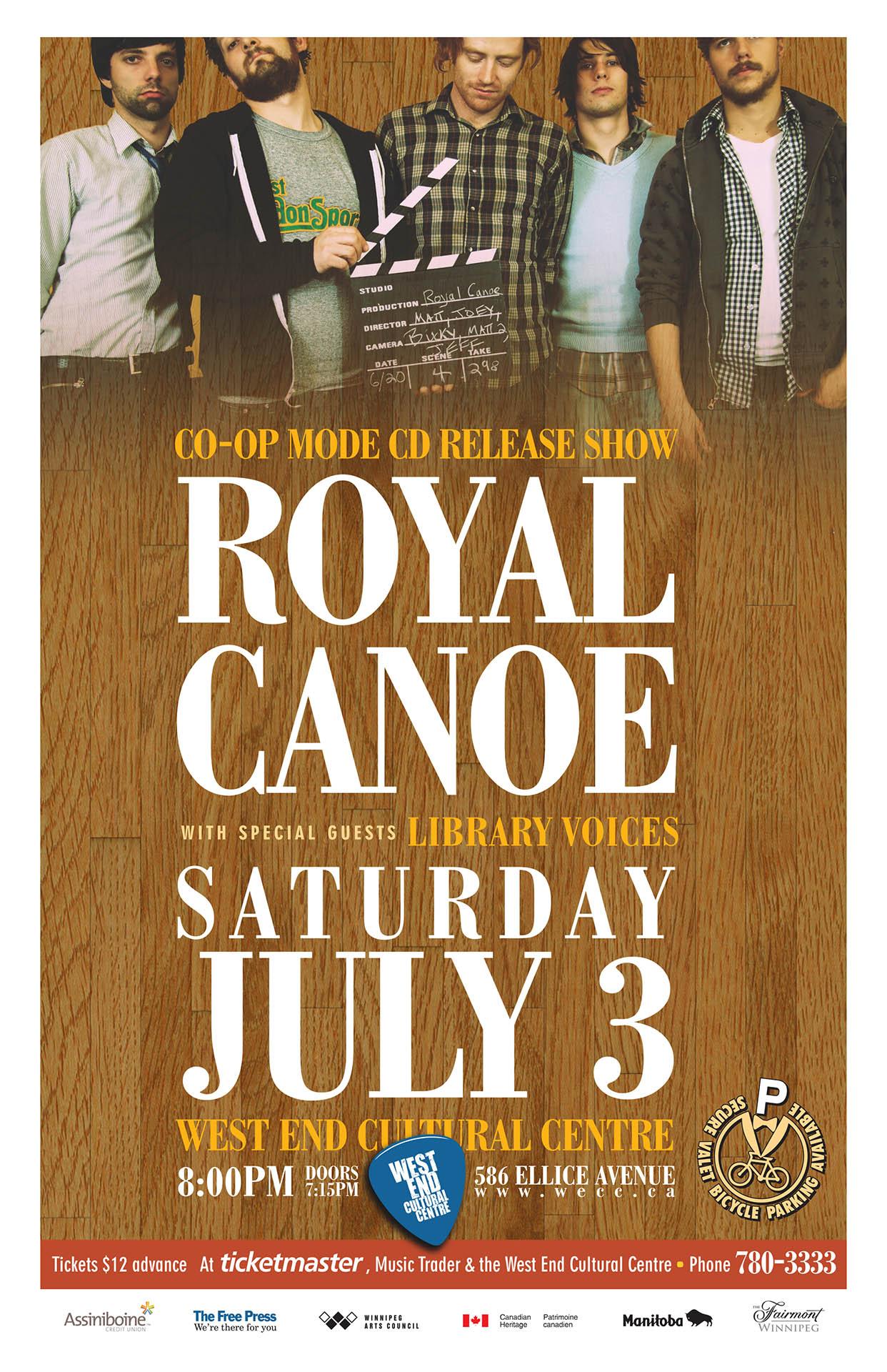 ROYAL CANOE – 2010
