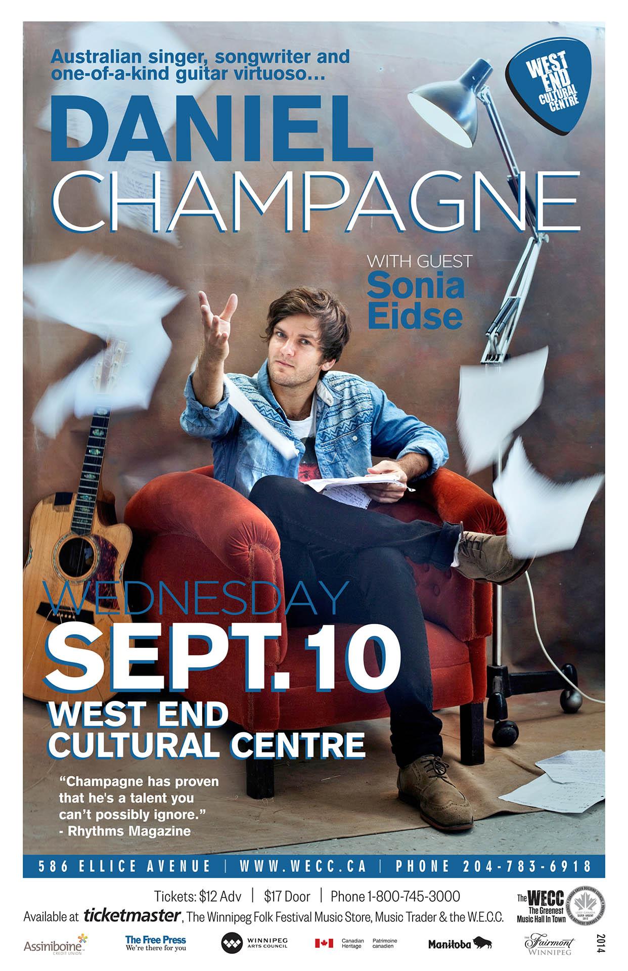 Daniel Champagne - 2014