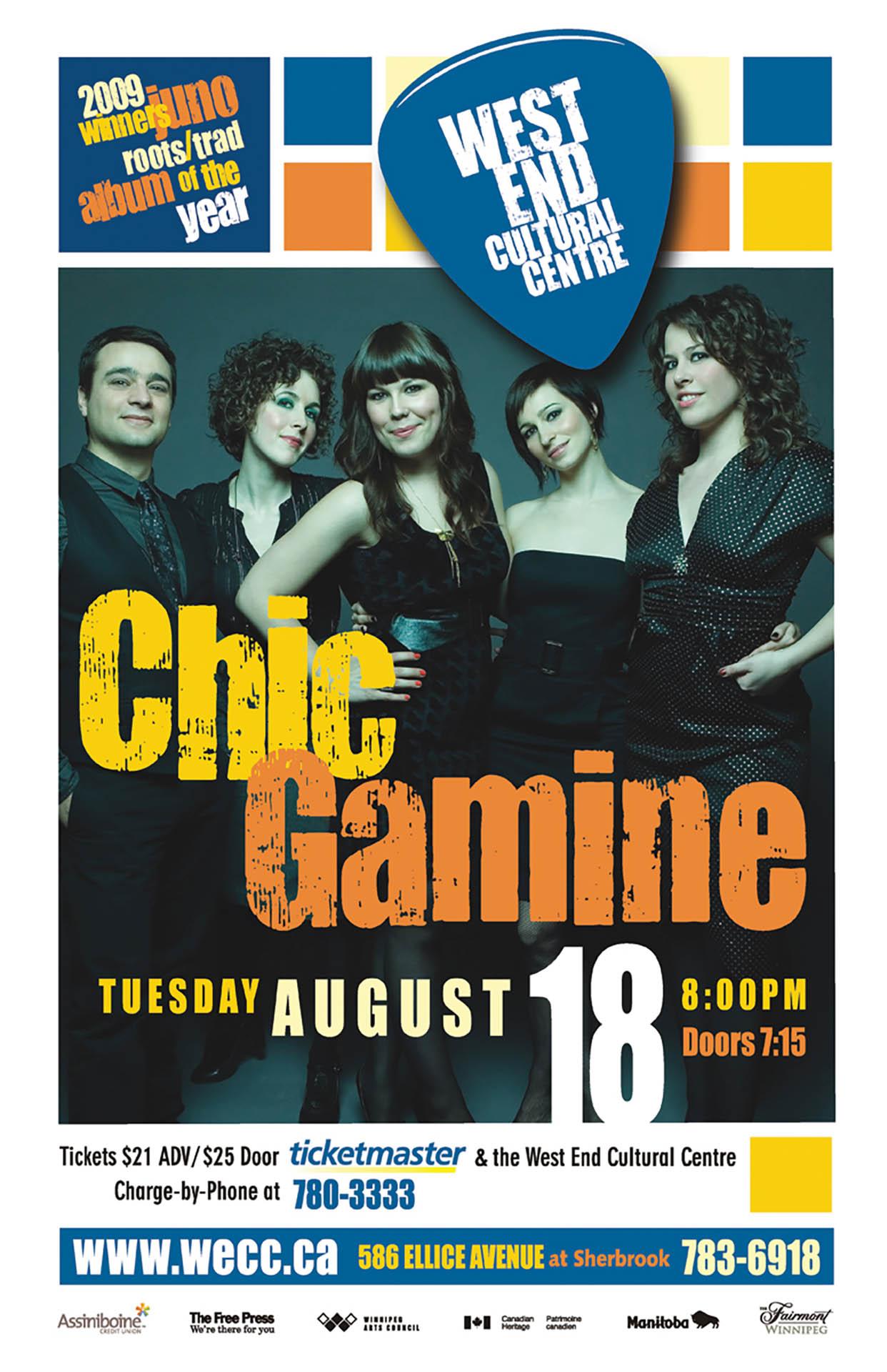 CHIC GAMINE – 2009