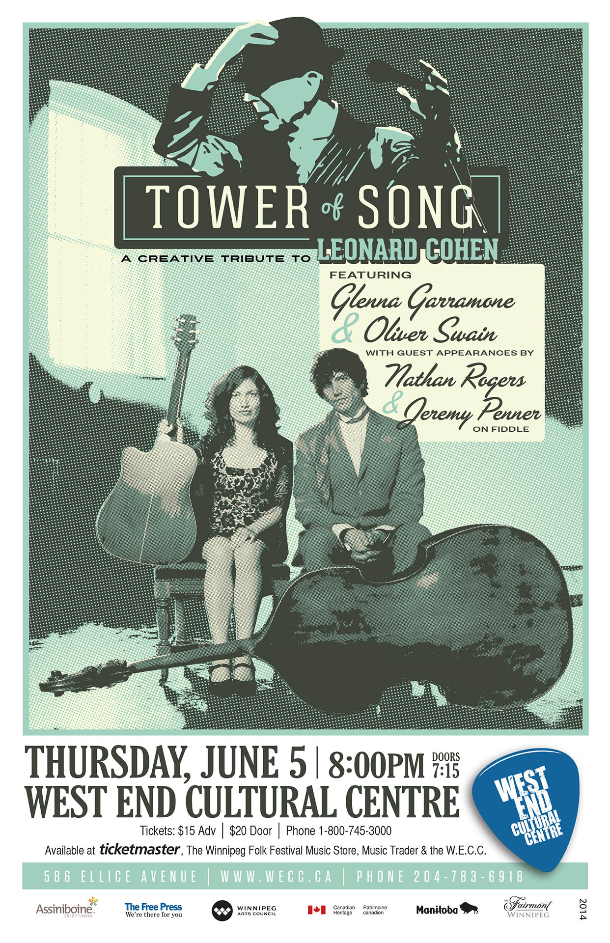 Tower Of Song - 2014