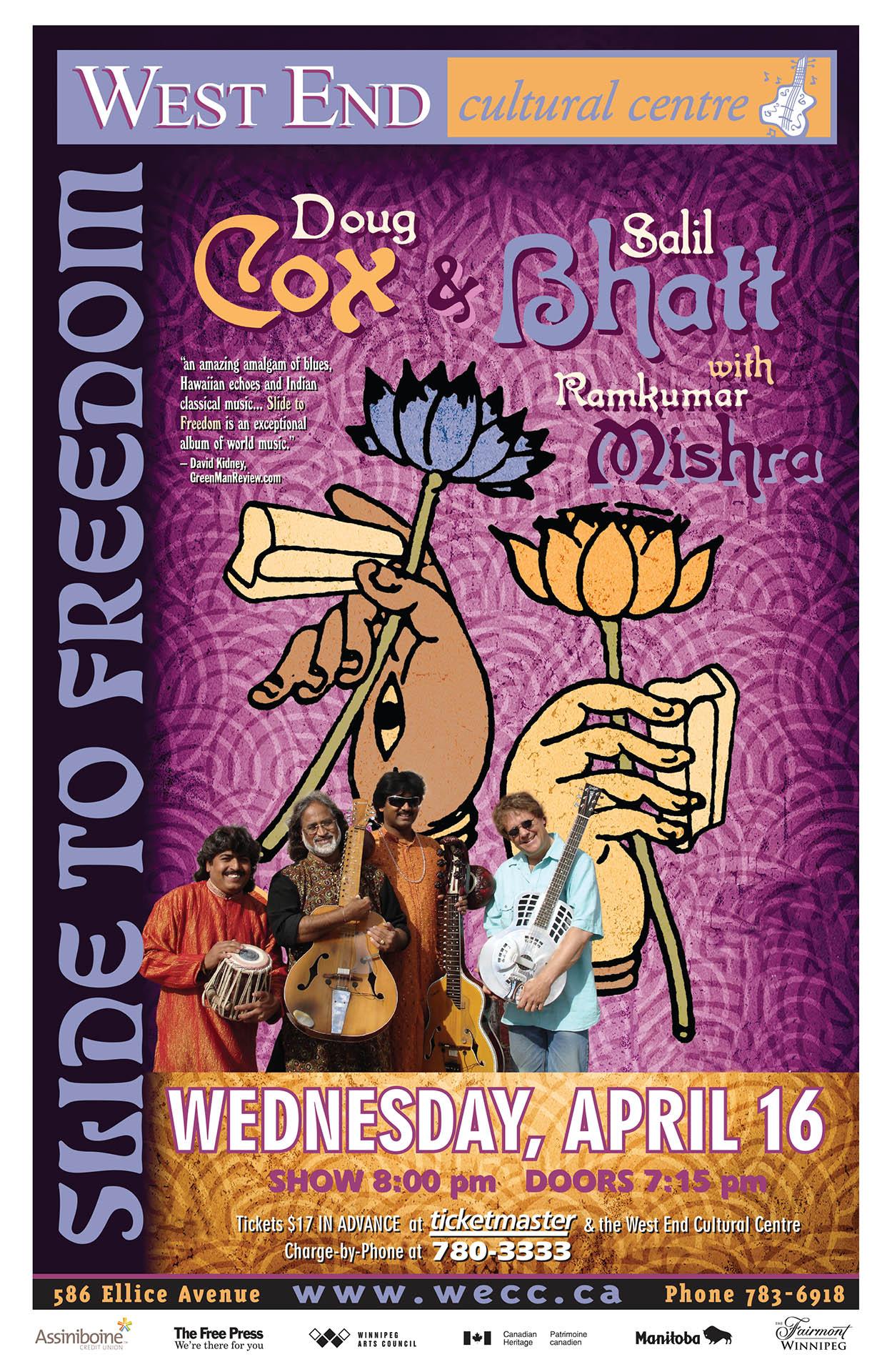 DOUG COX & SALIL BHATT – 2008