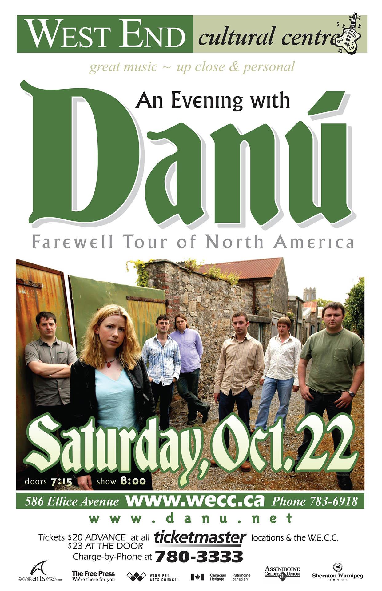 An Evening With Danu - 2005