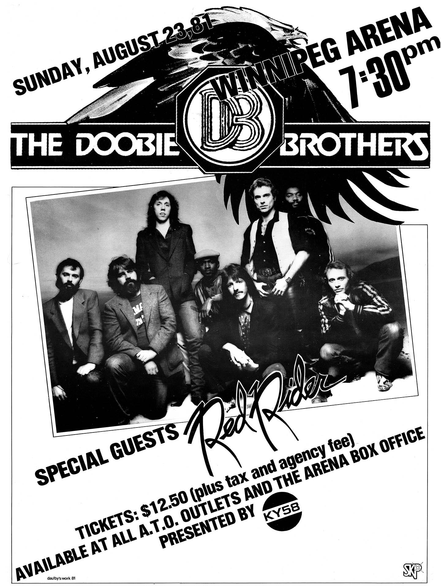 DOOBIE BROTHERS – 1981