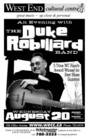 The Duke Robillard Band - 2003