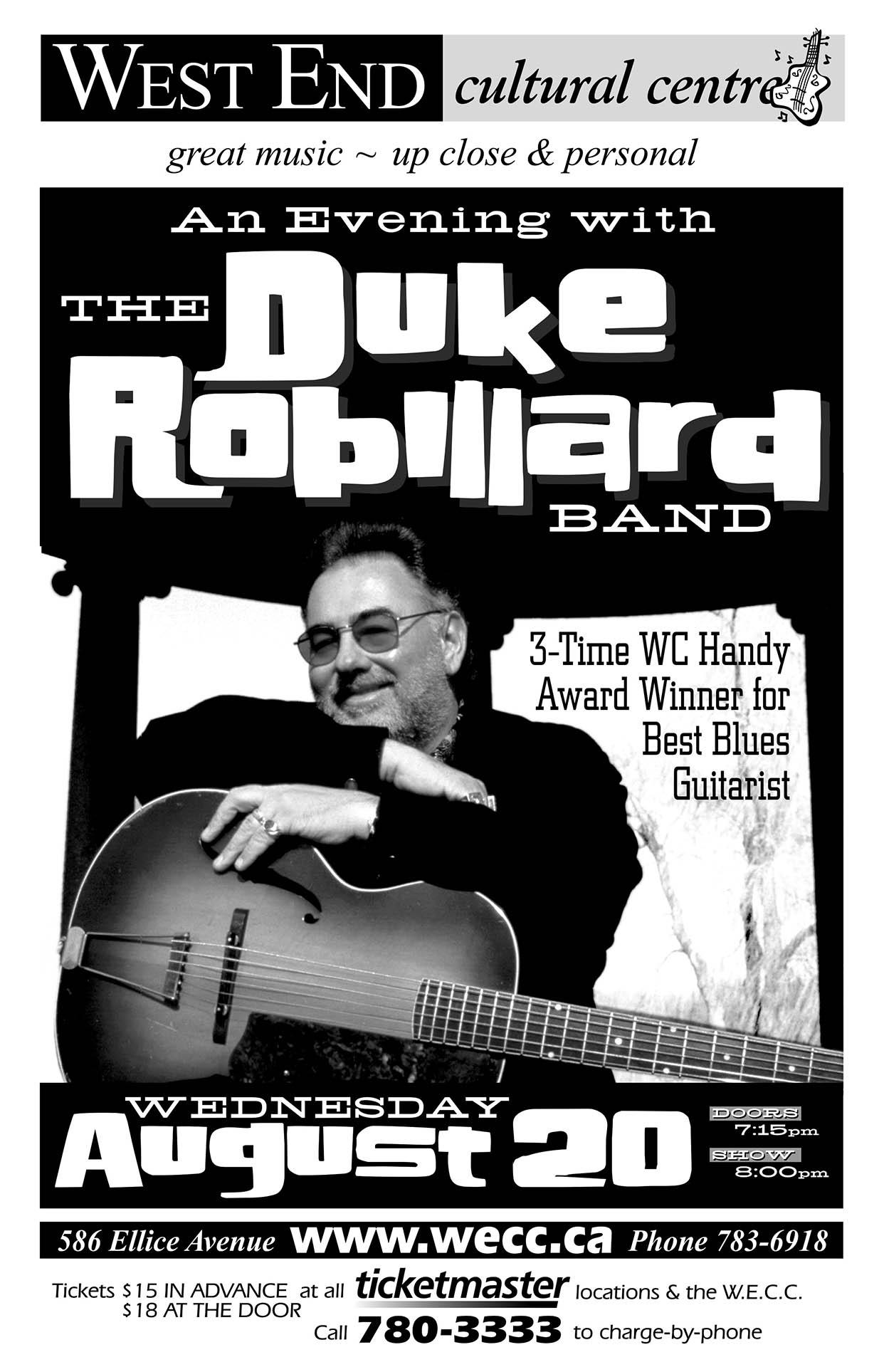 The Duke Robillard Band - 2003