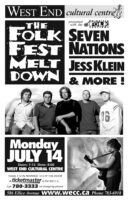The Folk Fest Melt Down - 2003