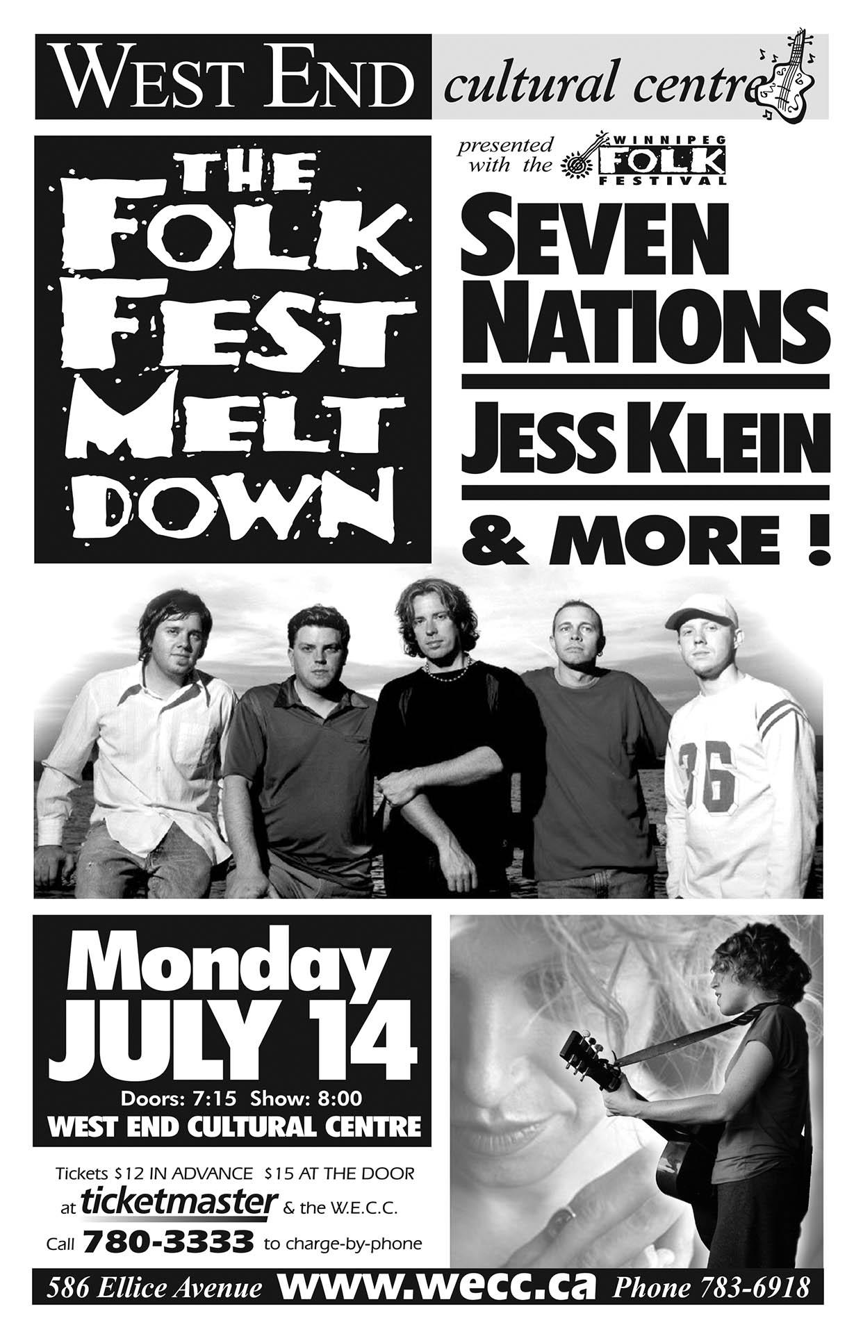 The Folk Fest Melt Down - 2003