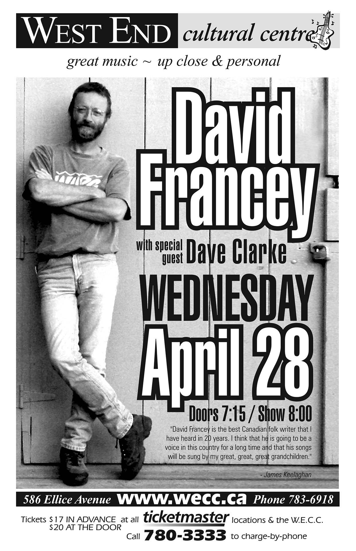 David Francey - 2004