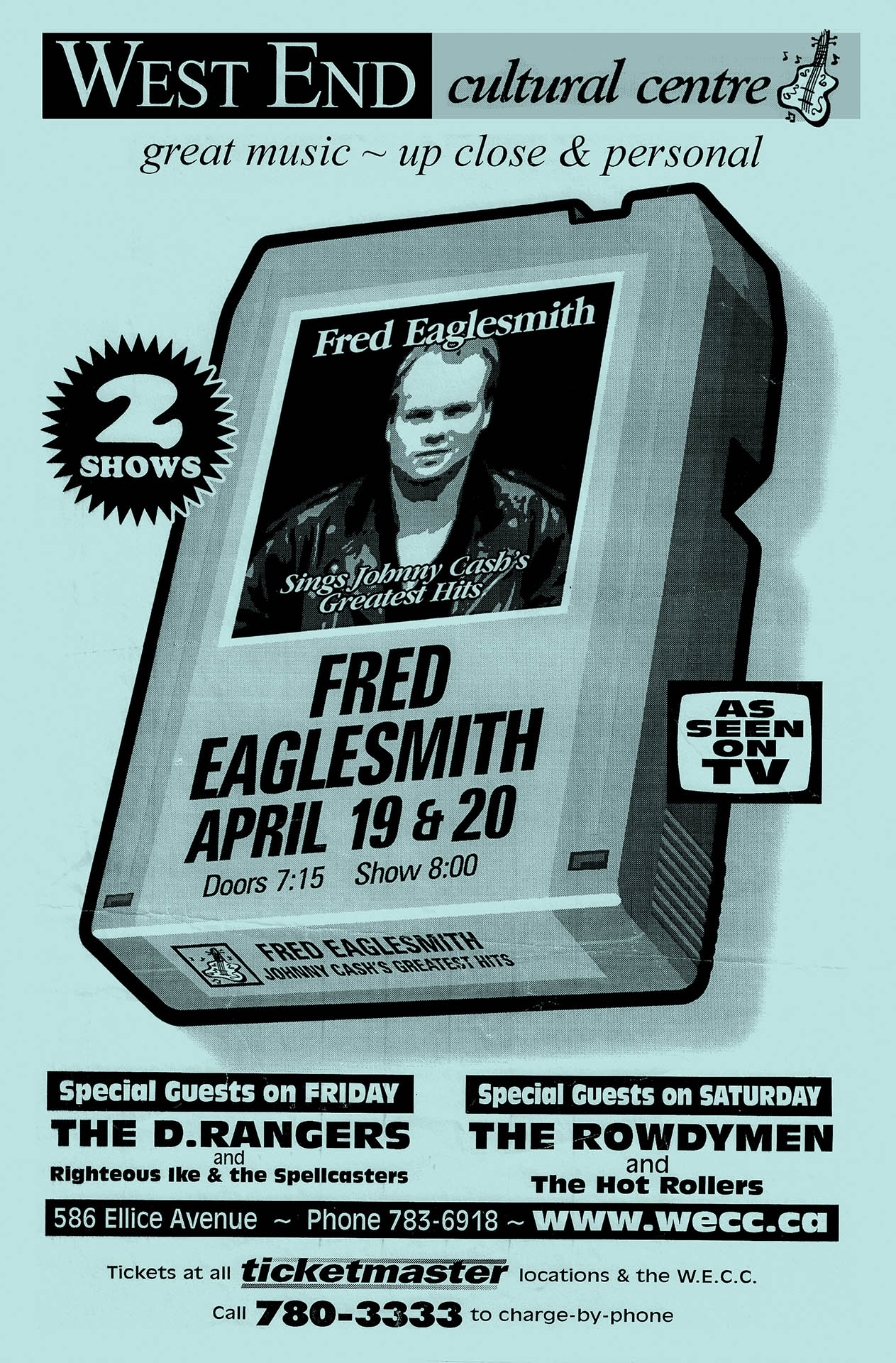 Fred Eaglesmith - 2002