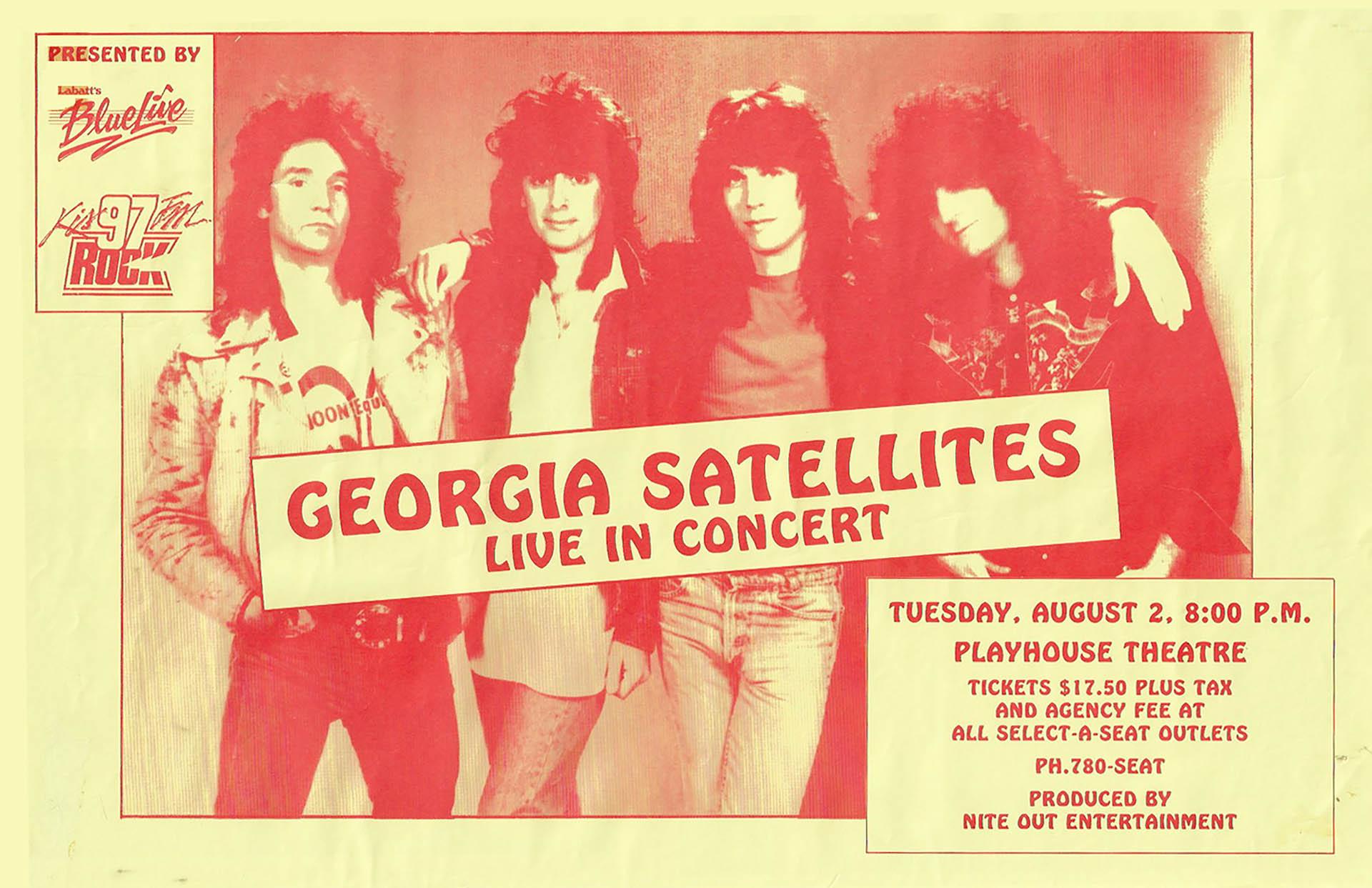 GEORGIA SATELLITES – 1988