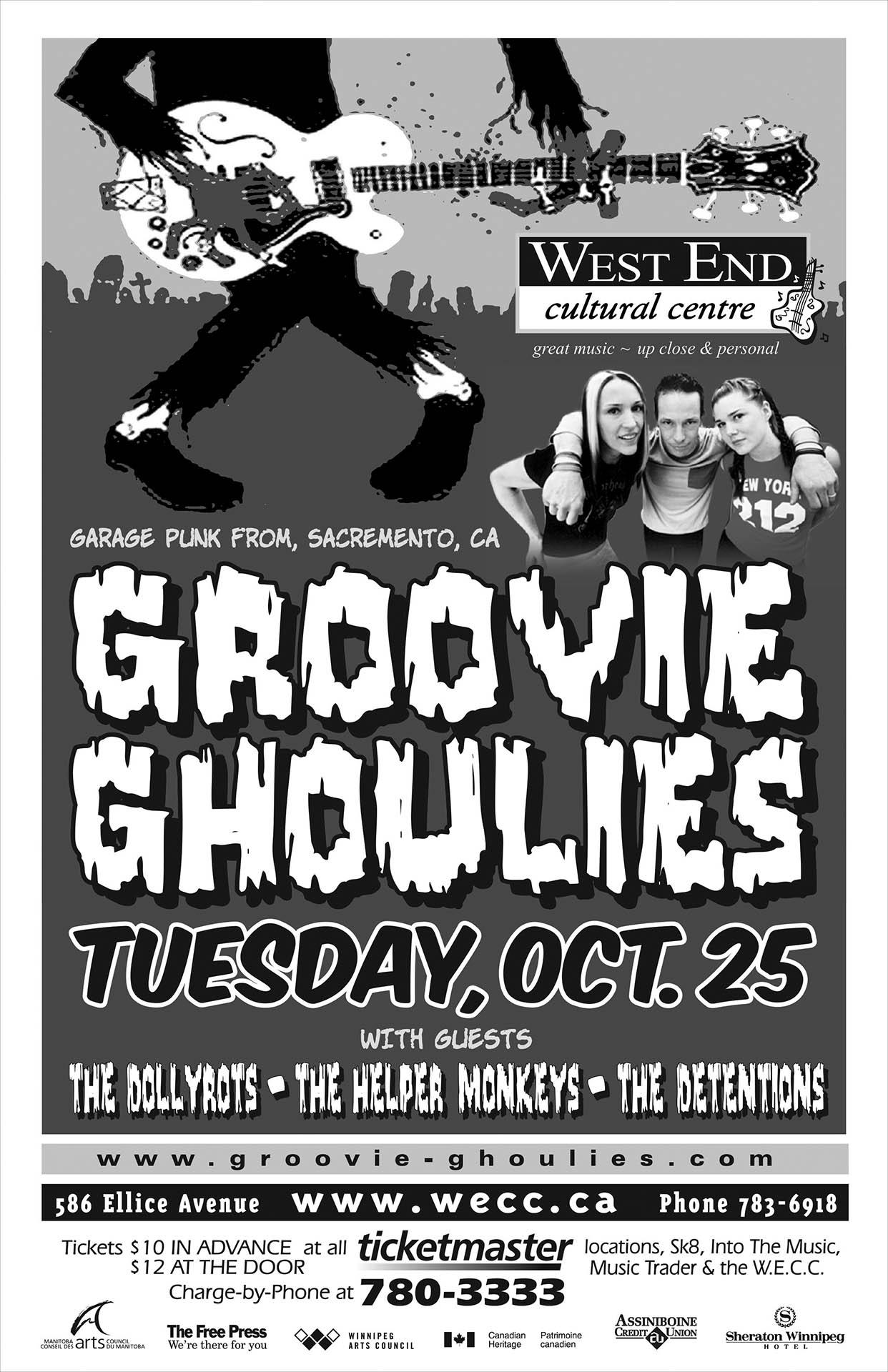 Groovie Ghoulies - 2005