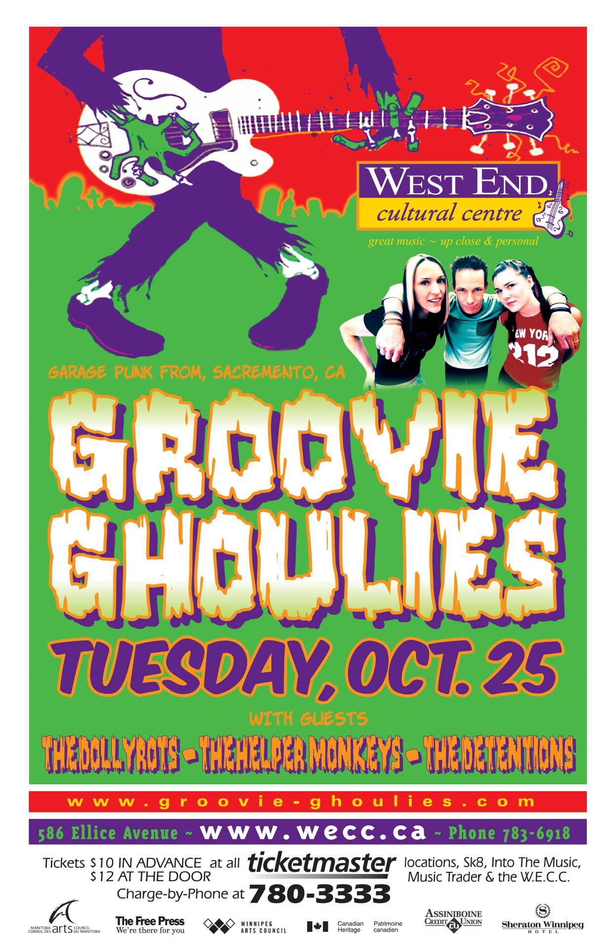 Groovie Ghoulies – 2005