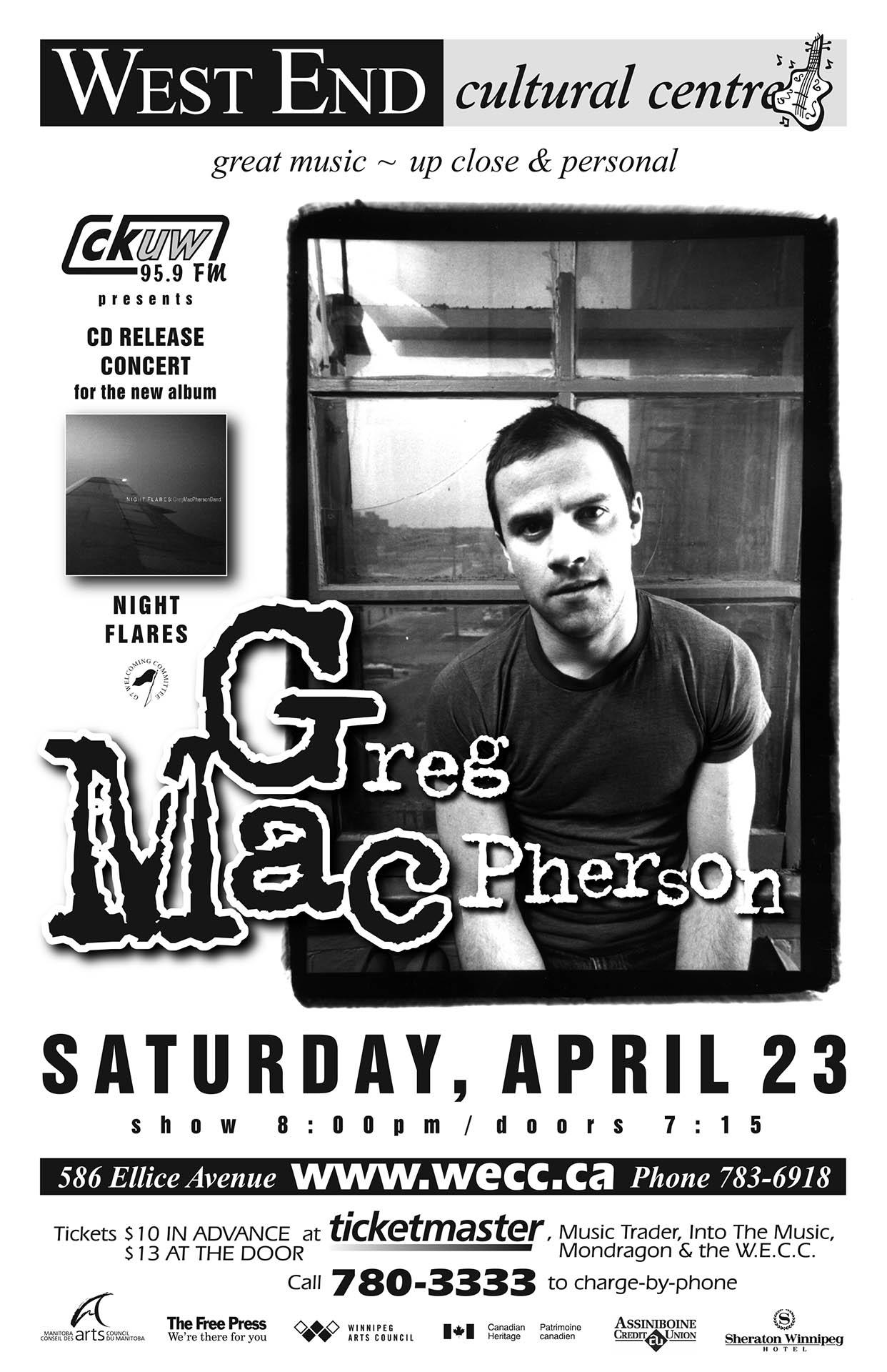 Greg MacPherson - 2005
