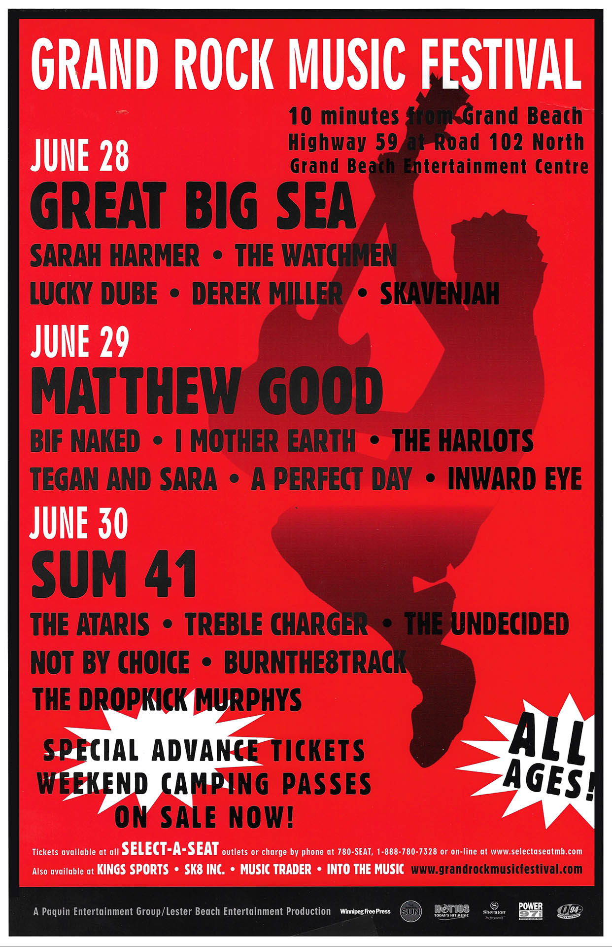 GRAND ROCK MUSIC FESTIVAL – 2002