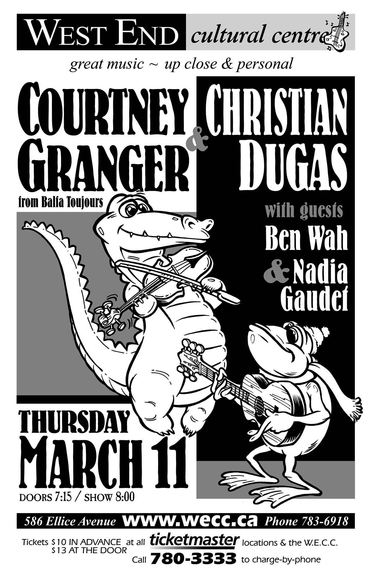 Courtney Granger & Christian Dugas - 2004