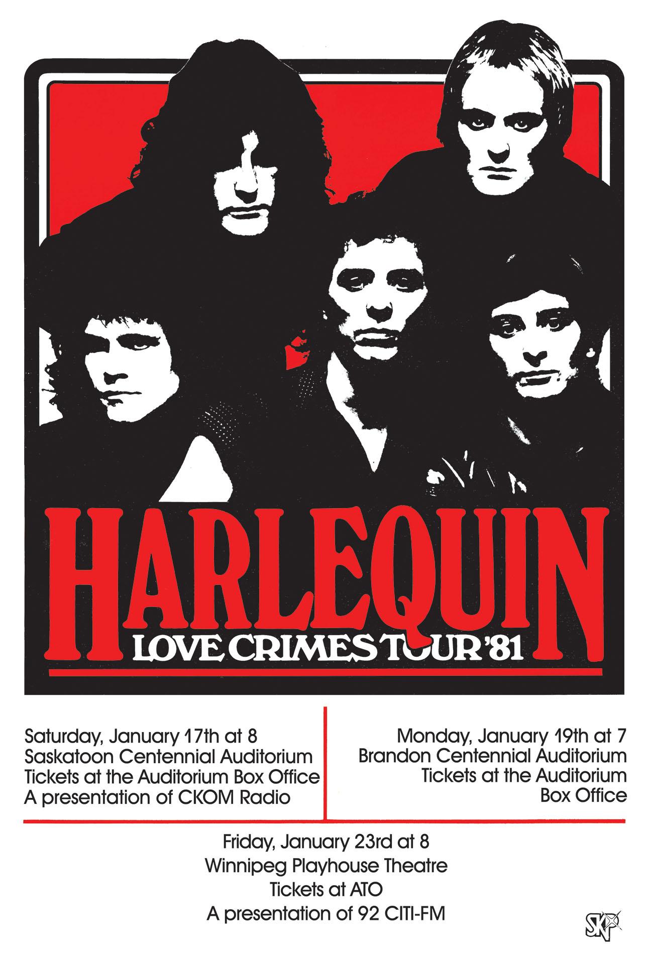 HARLEQUIN – 1981