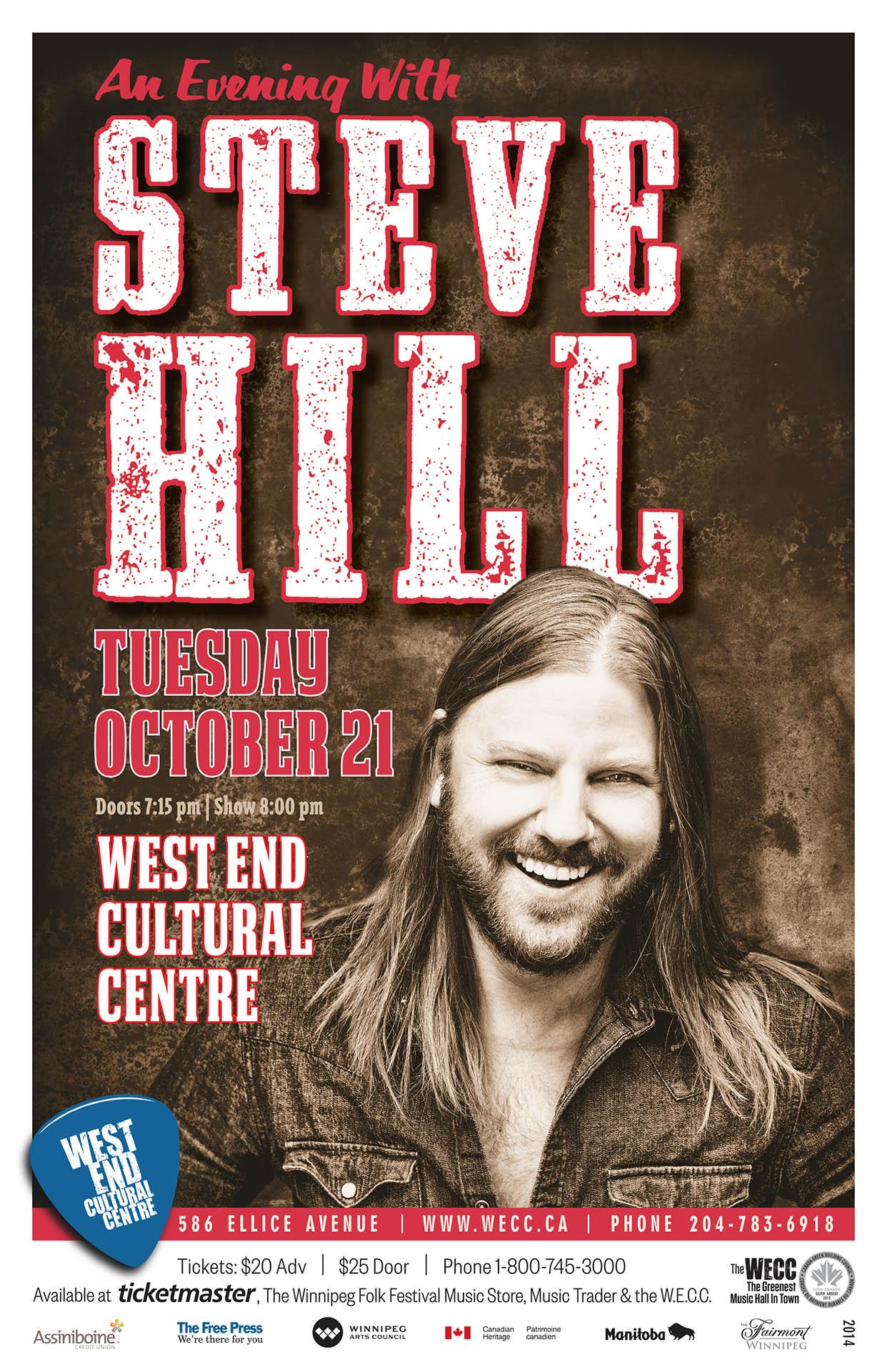 An Evening With Steve Hill - 2014