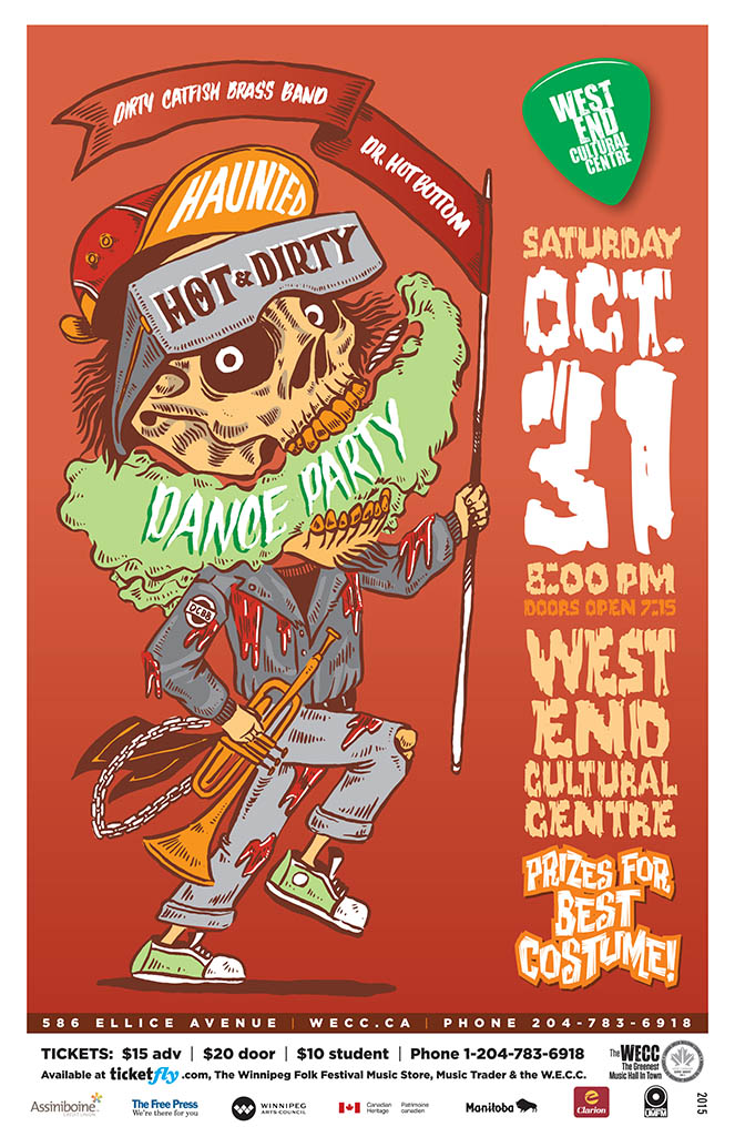 Haunted Hot And Dirty Dance Party - 2015