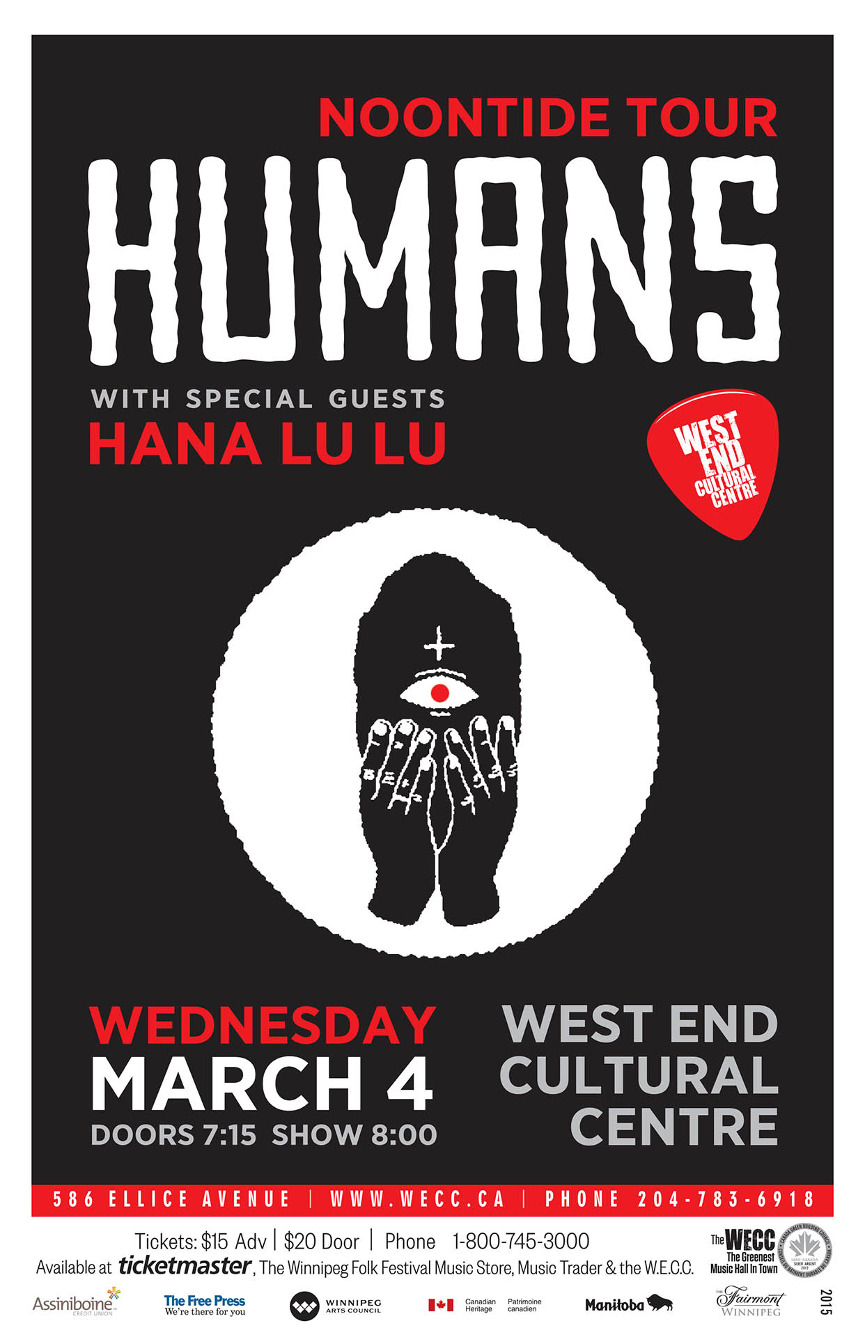 Noontide Tour Humans - 2015