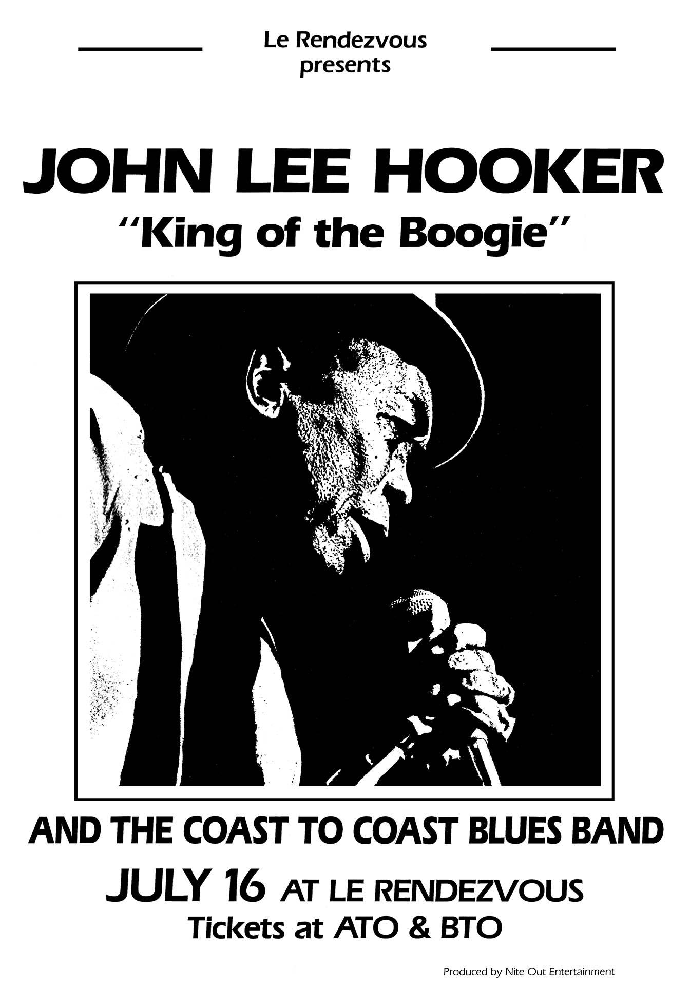 JOHN LEE HOOKER – 1985