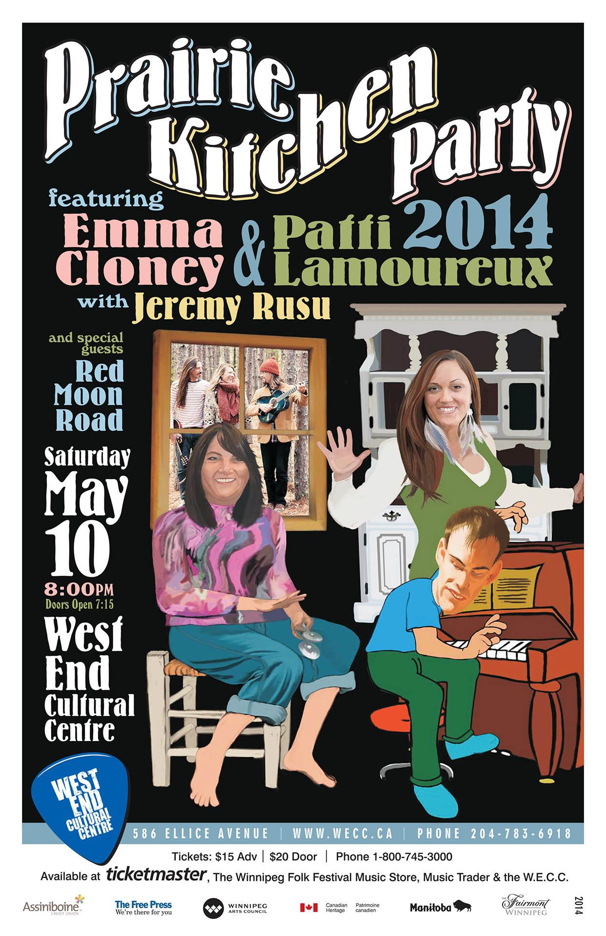 Prairie Kitchen Party - 2014
