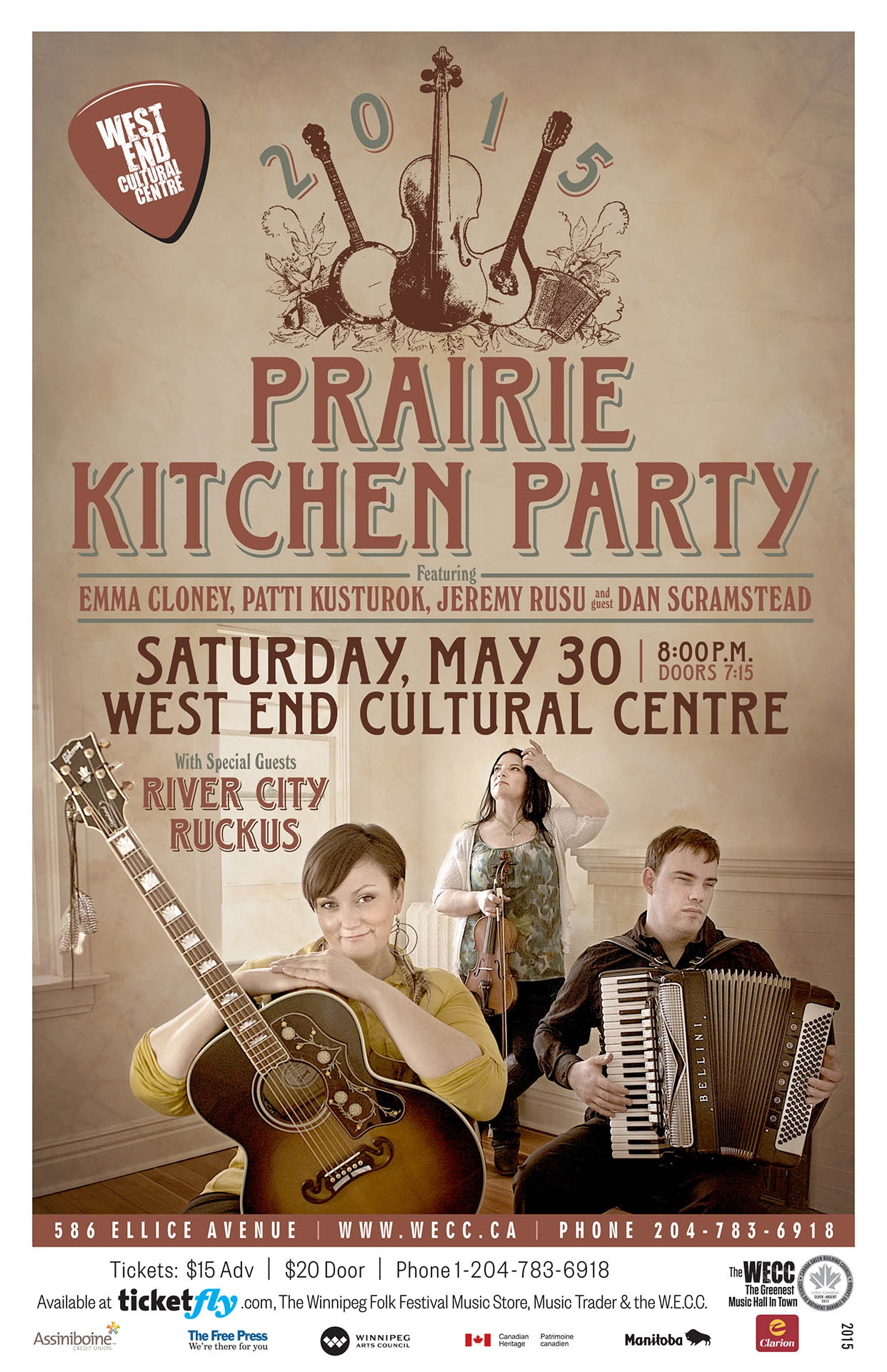 Prairie Kitchen Party - 2015