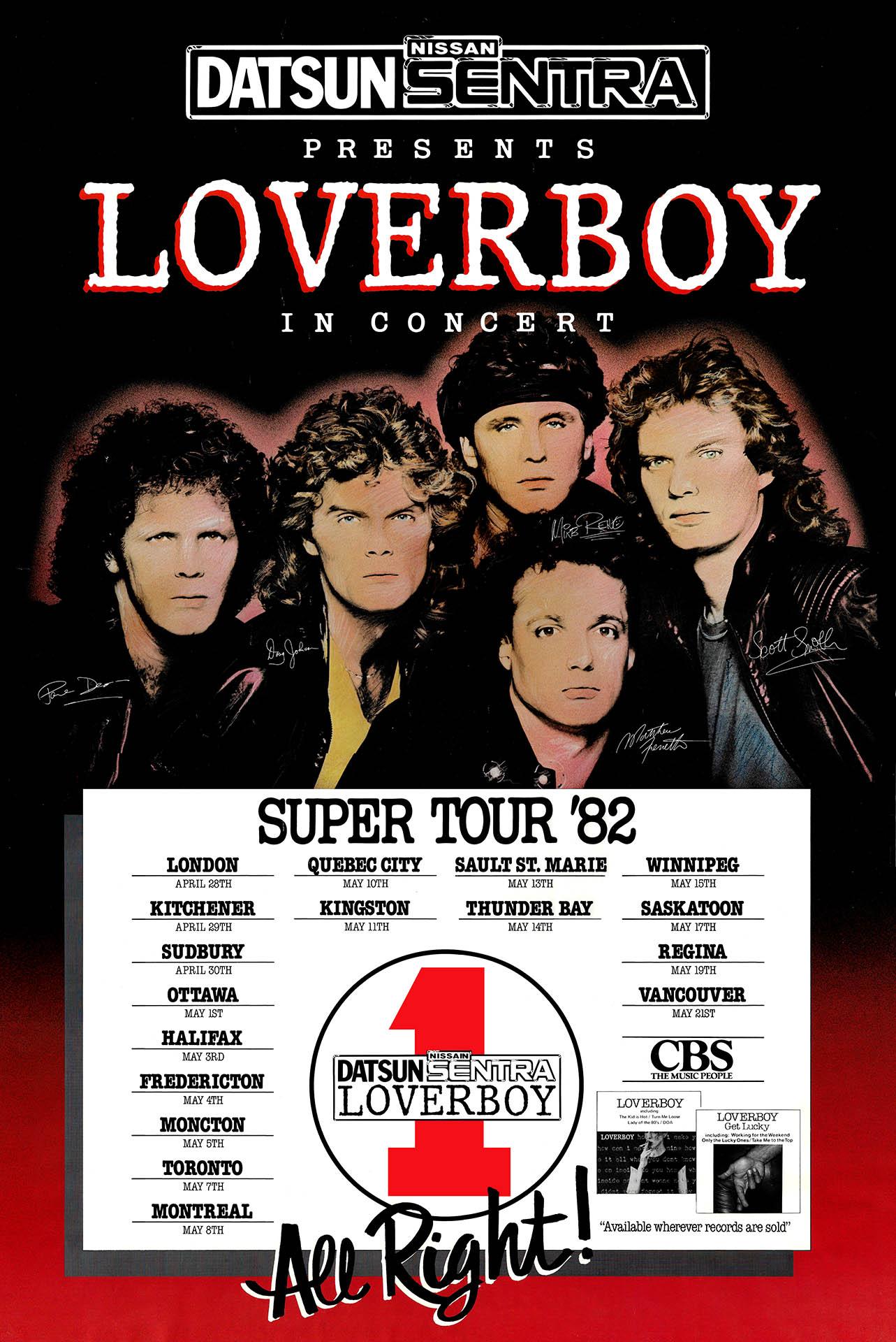 LOVERBOY – 1982