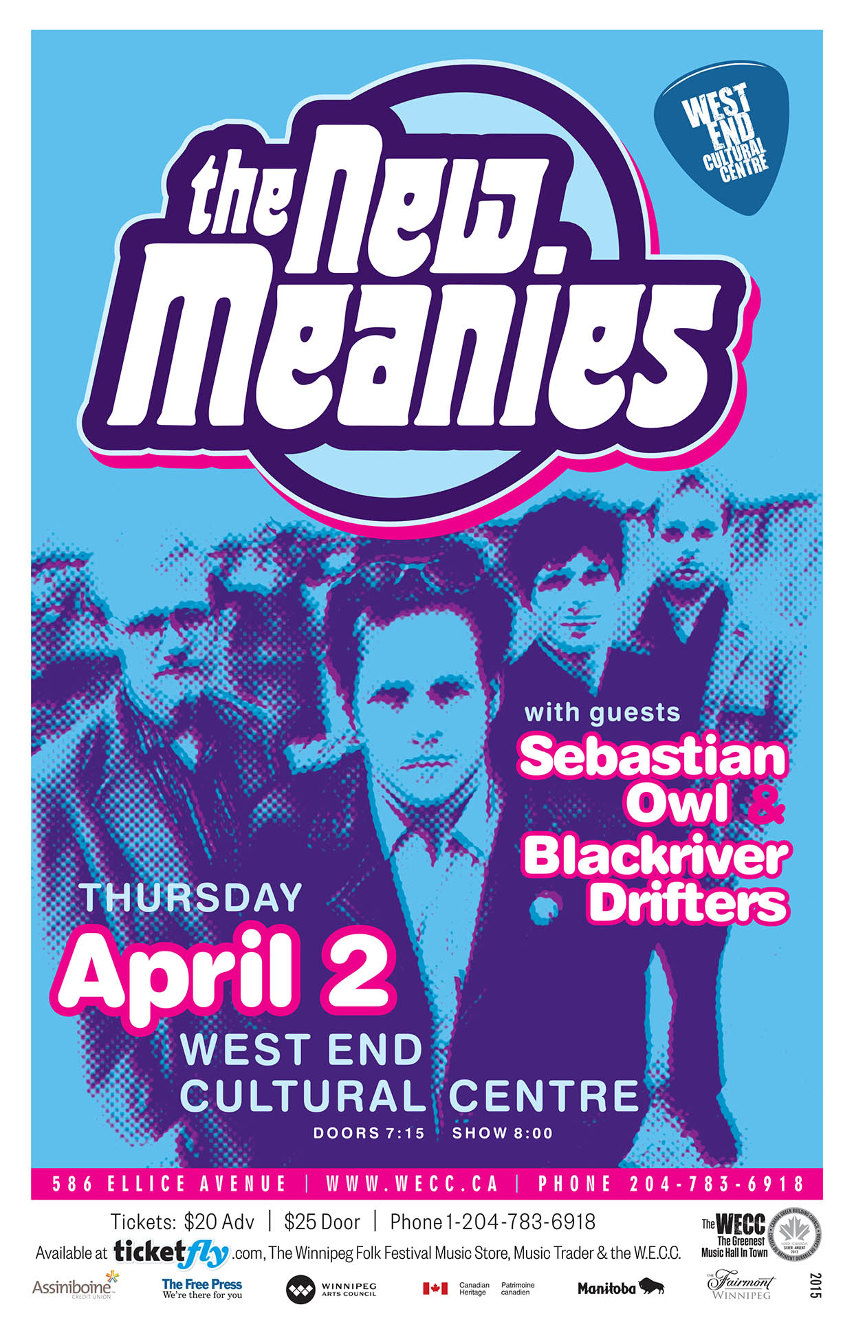 The New Meanies - 2015