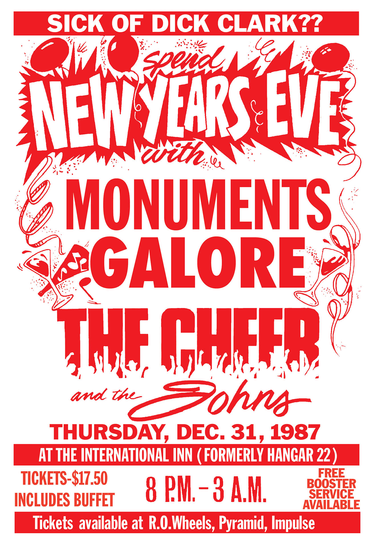 NEW YEARS EVE – 1987