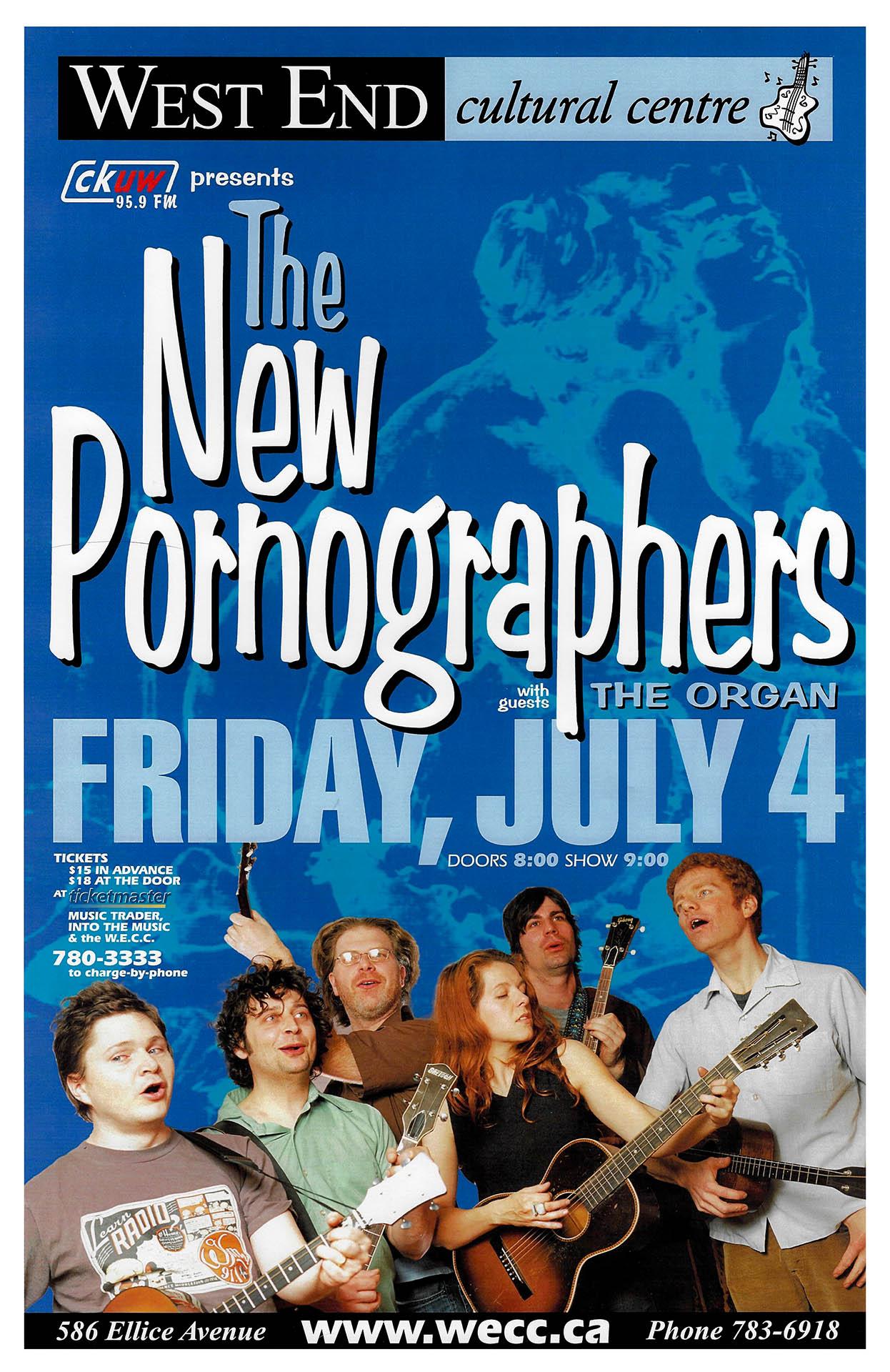 The New Pornographers - 2003