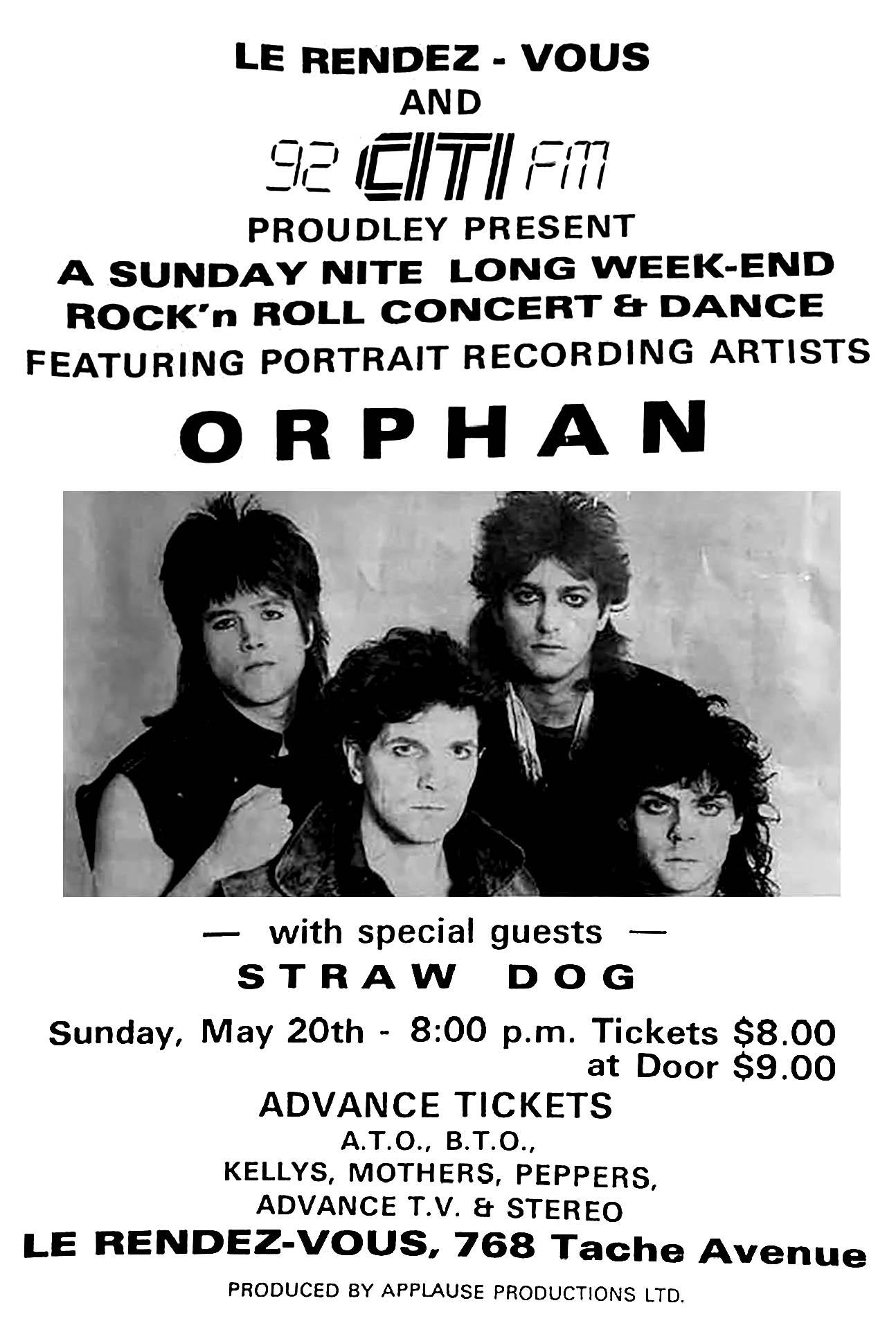 ORPHAN – 1984